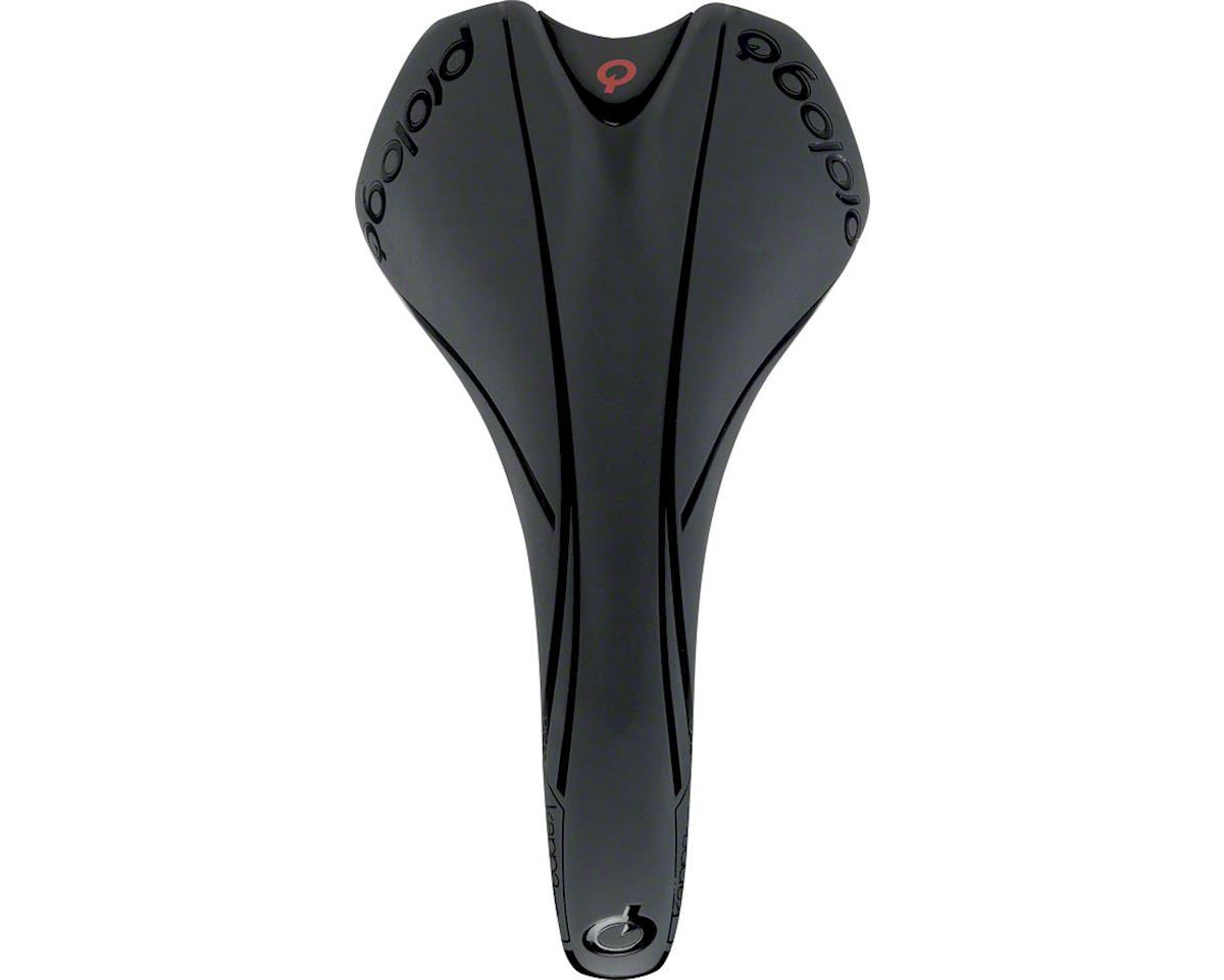 Prologo Kappa Evo Dea Women's Saddle, 147mm Wide, T2.0 Alloy Rails: Black