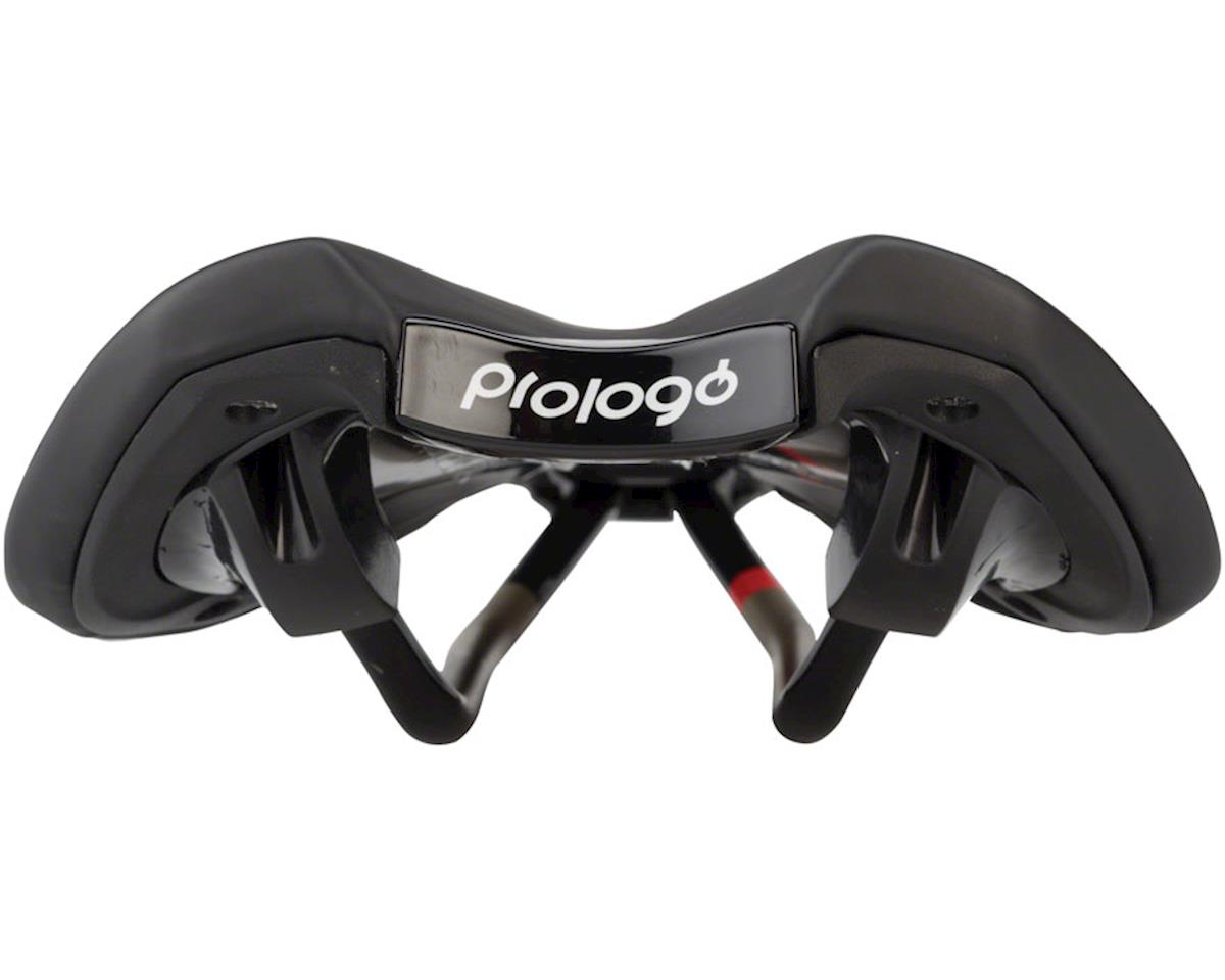 Prologo Nago Evo CPC Airing Saddle, 141mm wide, Ti-Rox alloy rails: Hard Black