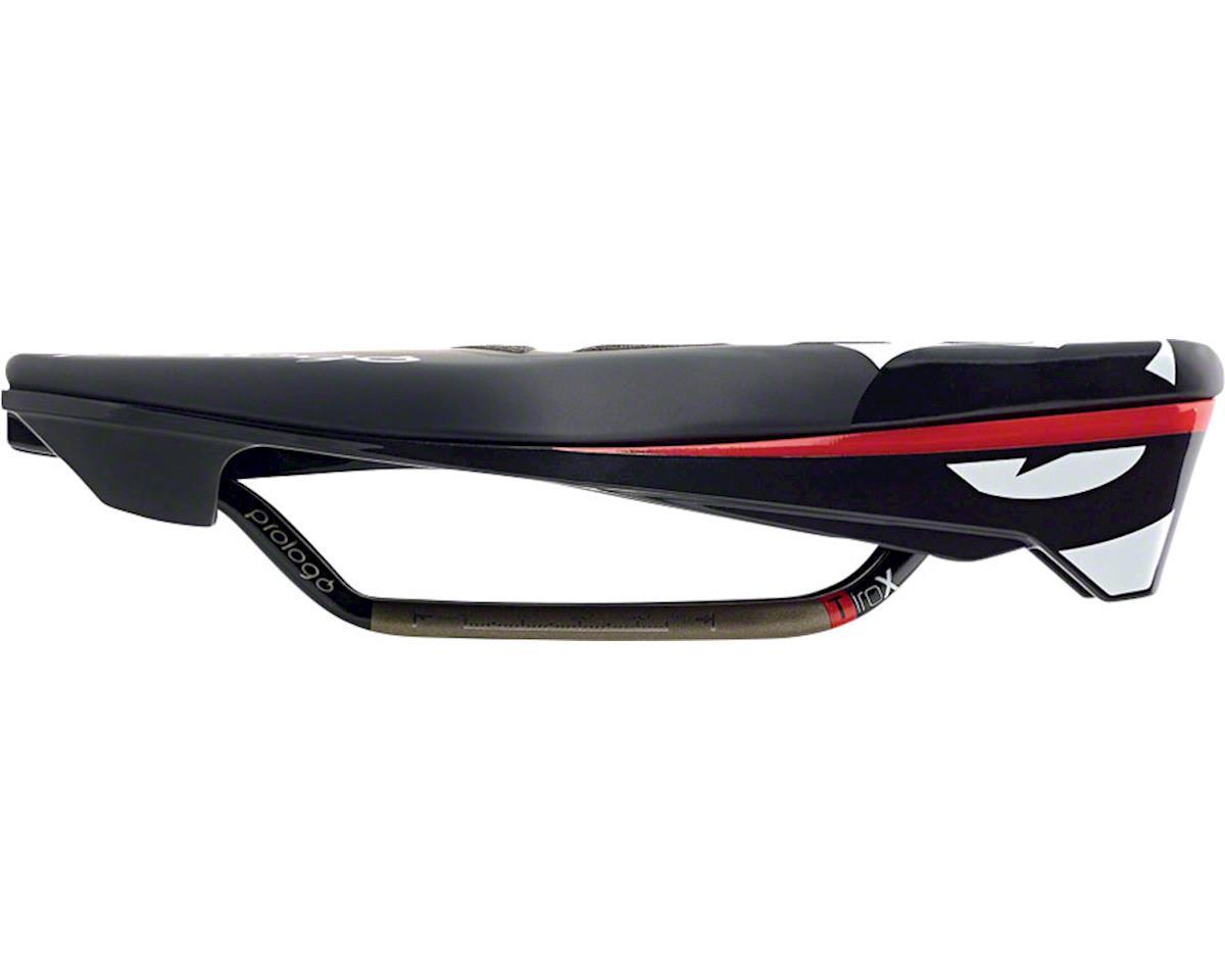 Prologo Tgale CPC PAS TRI Triathlon Saddle, 130mm wide, Ti-Rox alloy rails: Hard