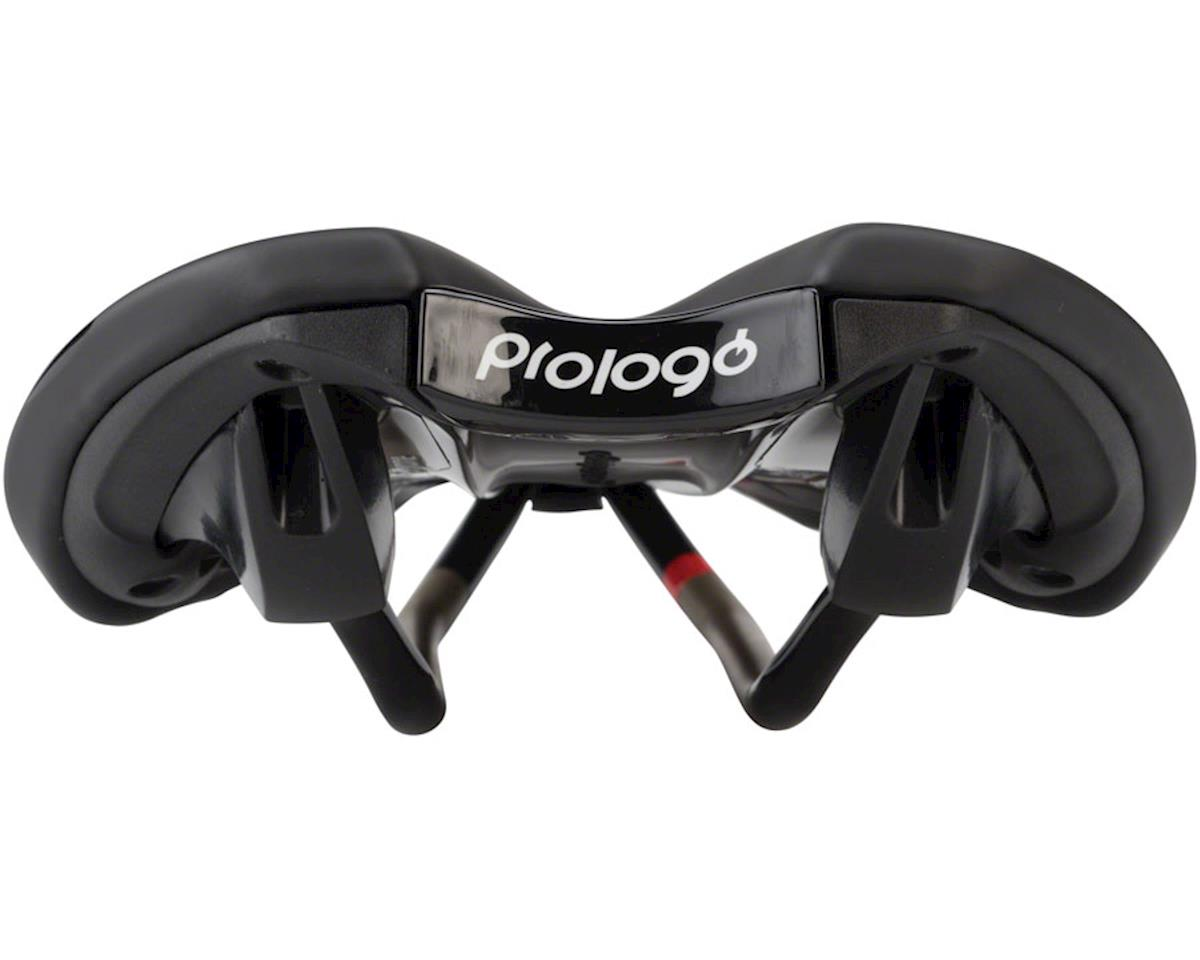 Prologo Zero II CPC Airing Saddle, 141mm wide, Ti-Rox alloy rails: Hard Black