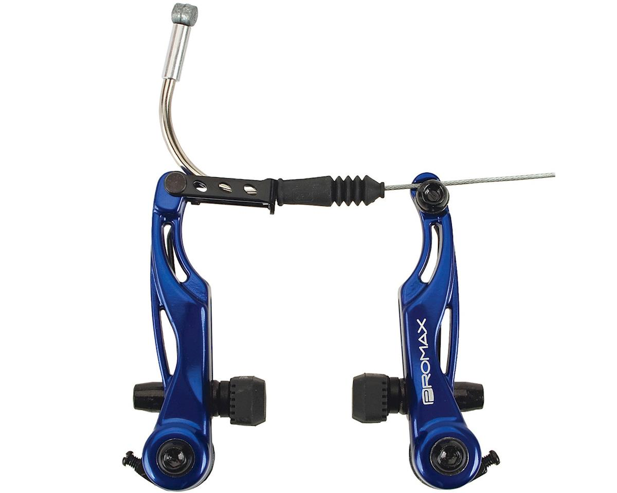 Promax P-1 Linear Pull Brakes 85mm Reach Blue