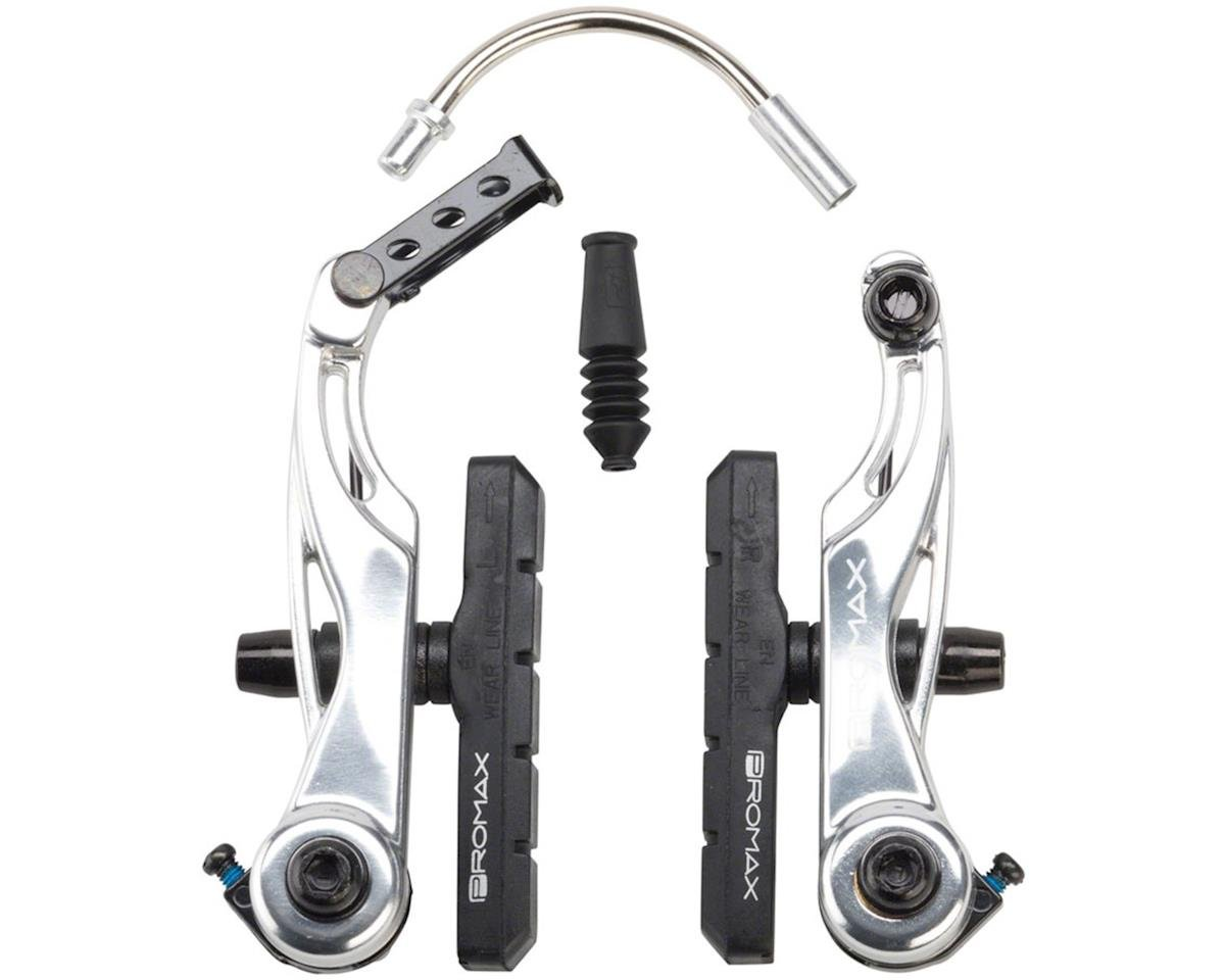 Promax P-1 Linear Pull Brakes 108mm Reach Silver