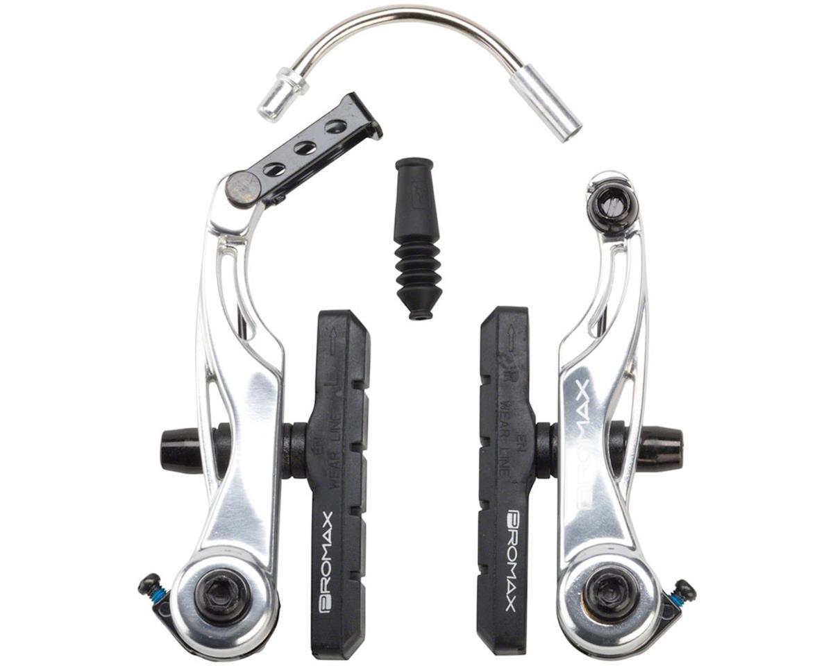 Promax P-1 Linear Pull Brakes 108mm Reach Silver