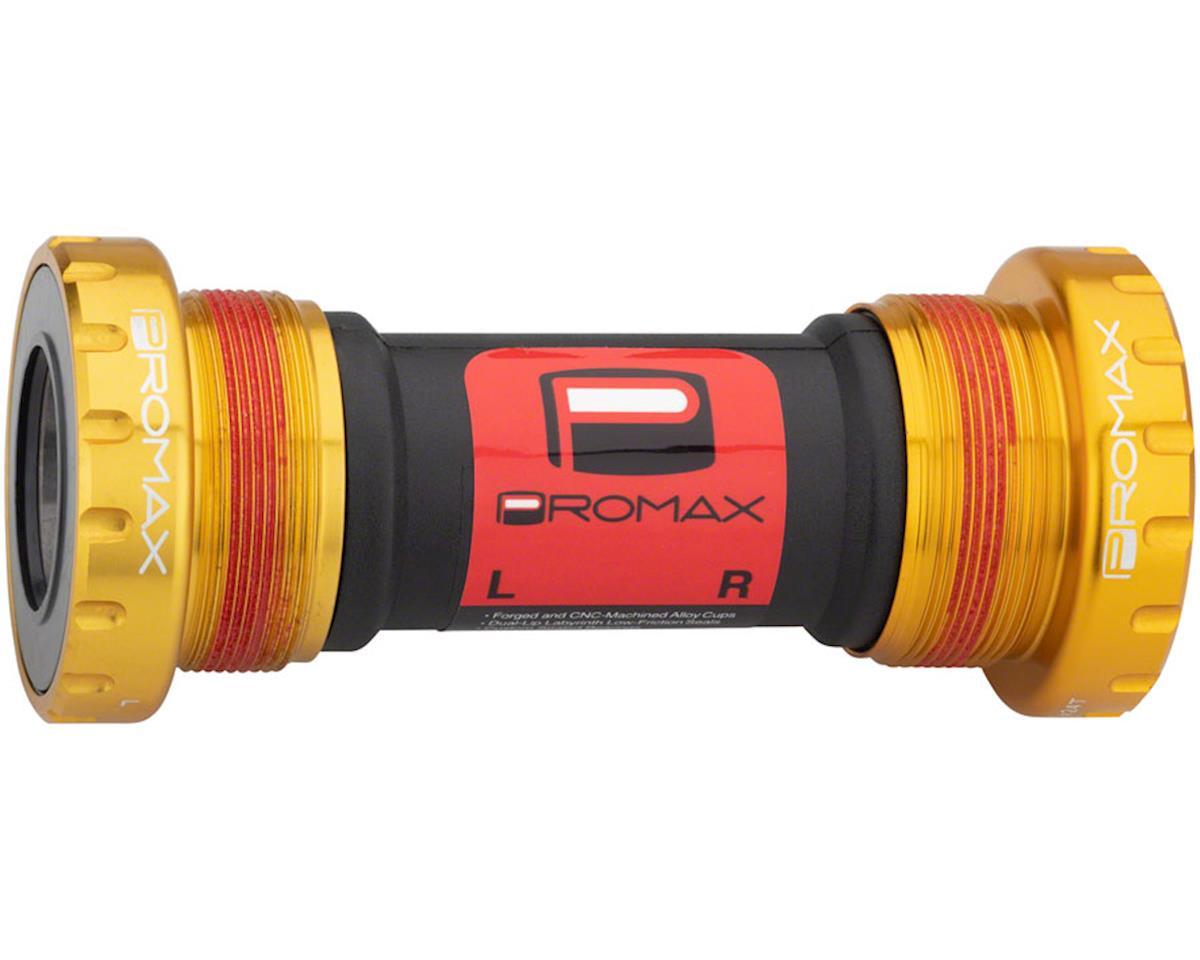 Promax EX-1 Alloy external Sealed Bottom Bracket 68/73mm Gold