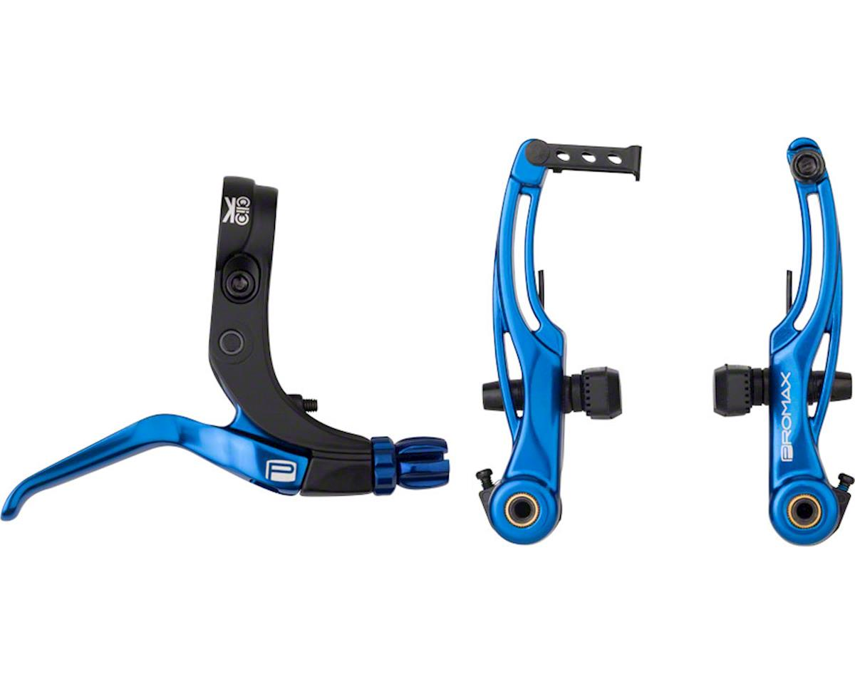 Promax P-1/Click V Point Brake Kit, 85mm Blue