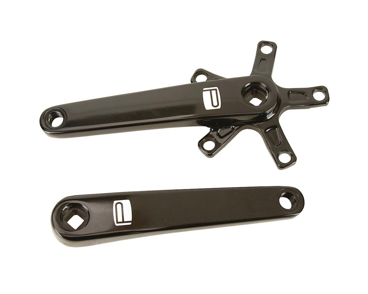 Promax SQ-1 Square Taper JIS Cold Forged Crank Arms (Black) (140mm)