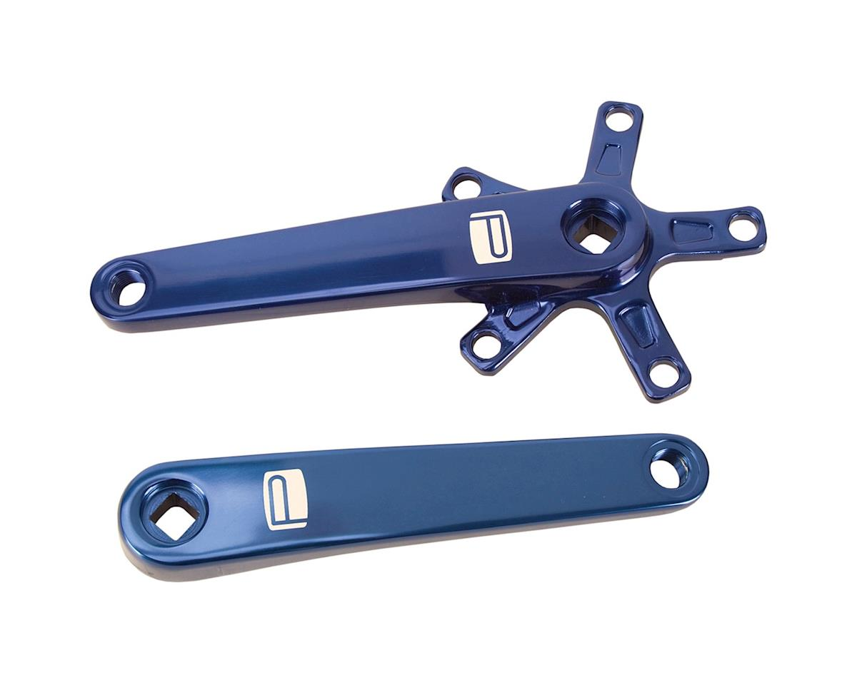 Promax SQ-1 Square Taper JIS Cold Forged Crank Arms (Blue) (165mm)