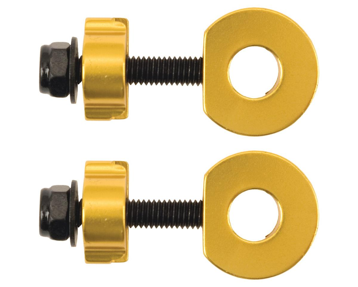"Promax C-2 Chain Tensioners for 3/8""/10mm Axles Gold"