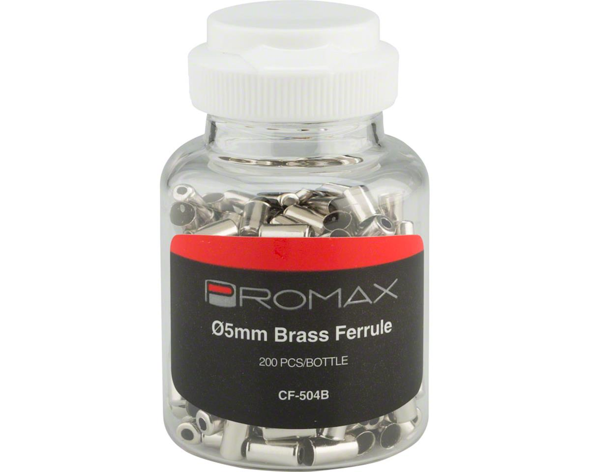 Promax Ferrule Brass 5mm 200 Bottle