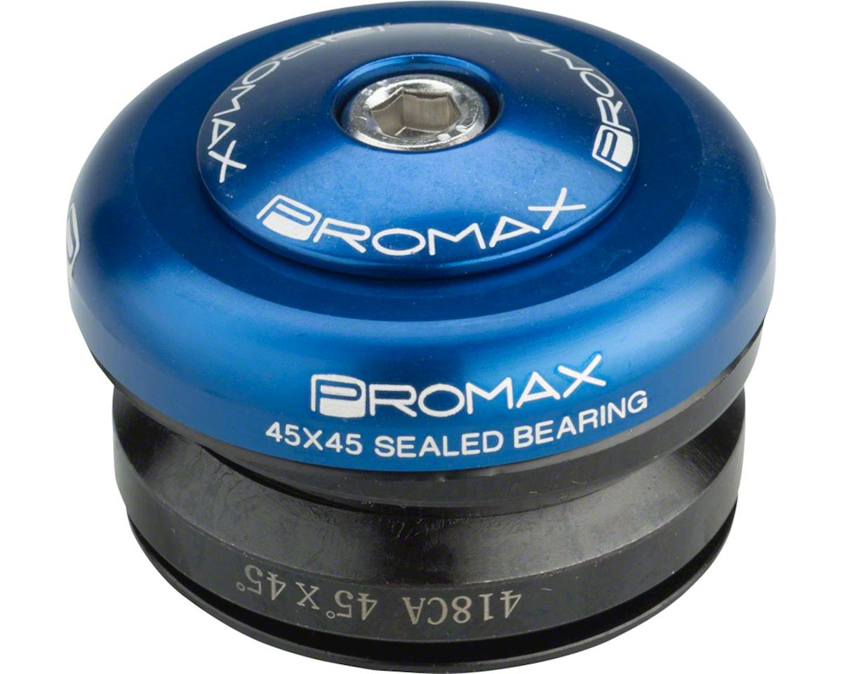 "Promax IG-45 Alloy Sealed Integrated 1"" Adaptor Headset (Blue)"