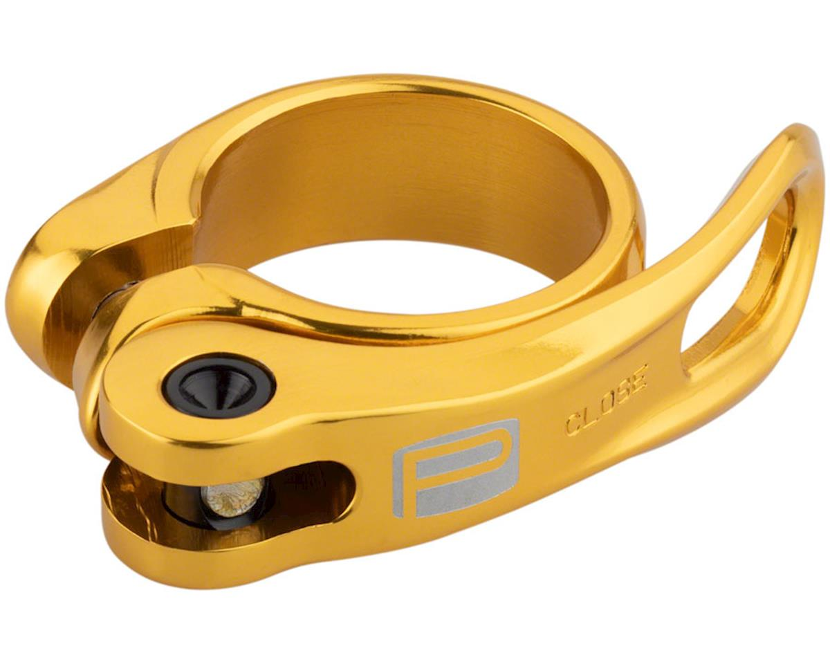 QR-1 Quick Release Seat Clamp 34.9mm Gold
