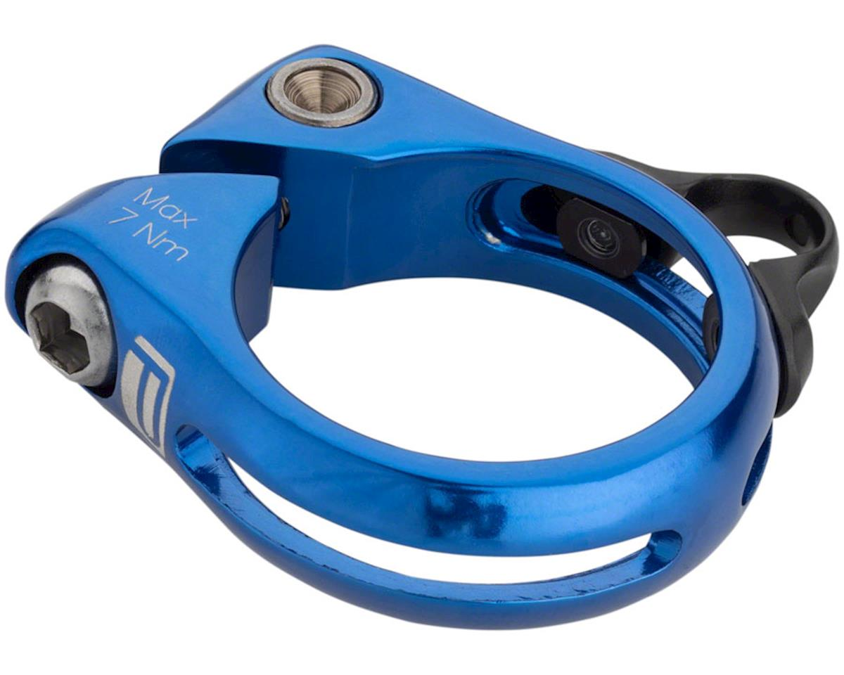 DP-1 Dropper Seat Post Clamp 34.9mm Blue
