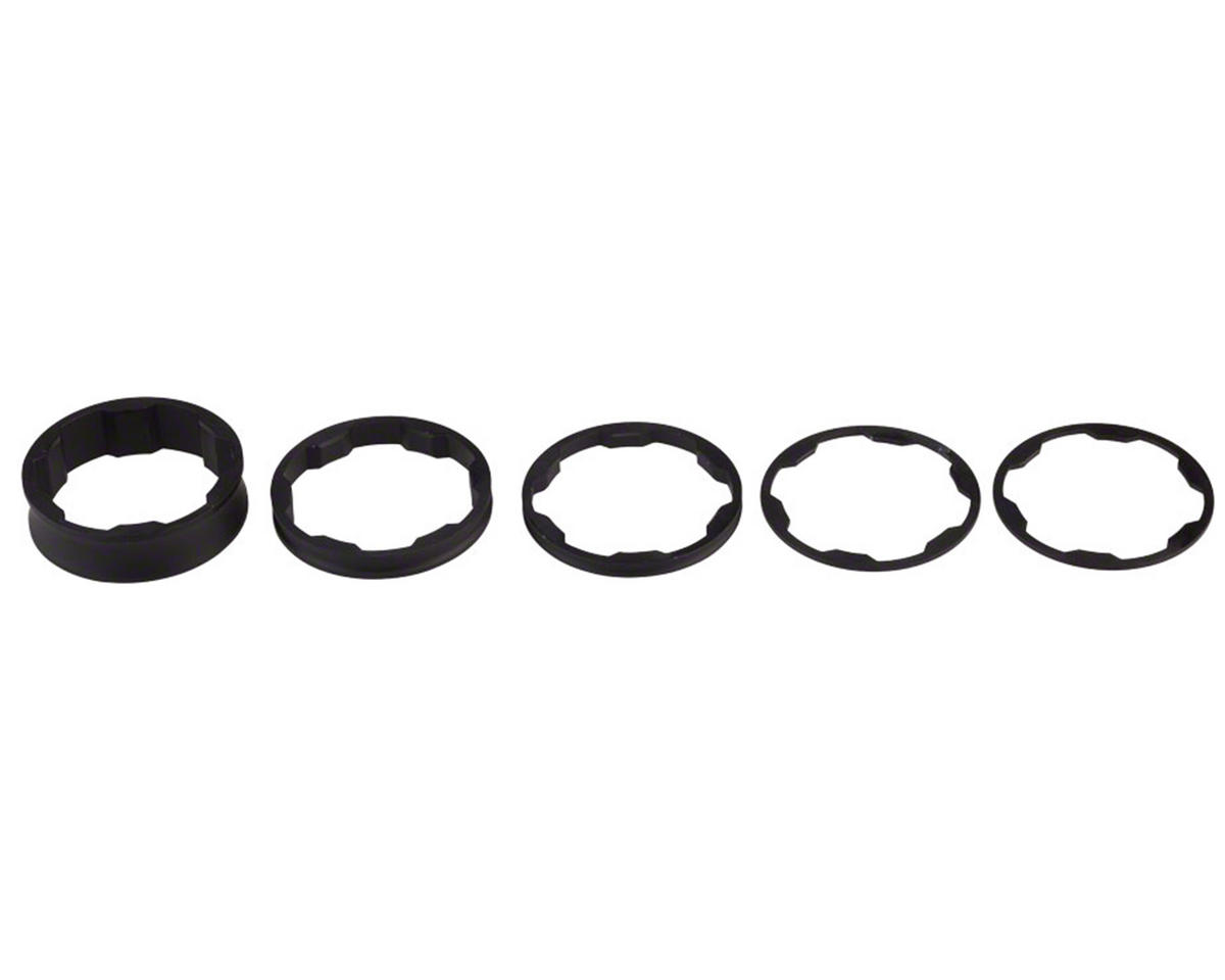 """Promax 1-1//8/"""" Stem Spacer Kit 10-5-3-1mm Spacers Red"""