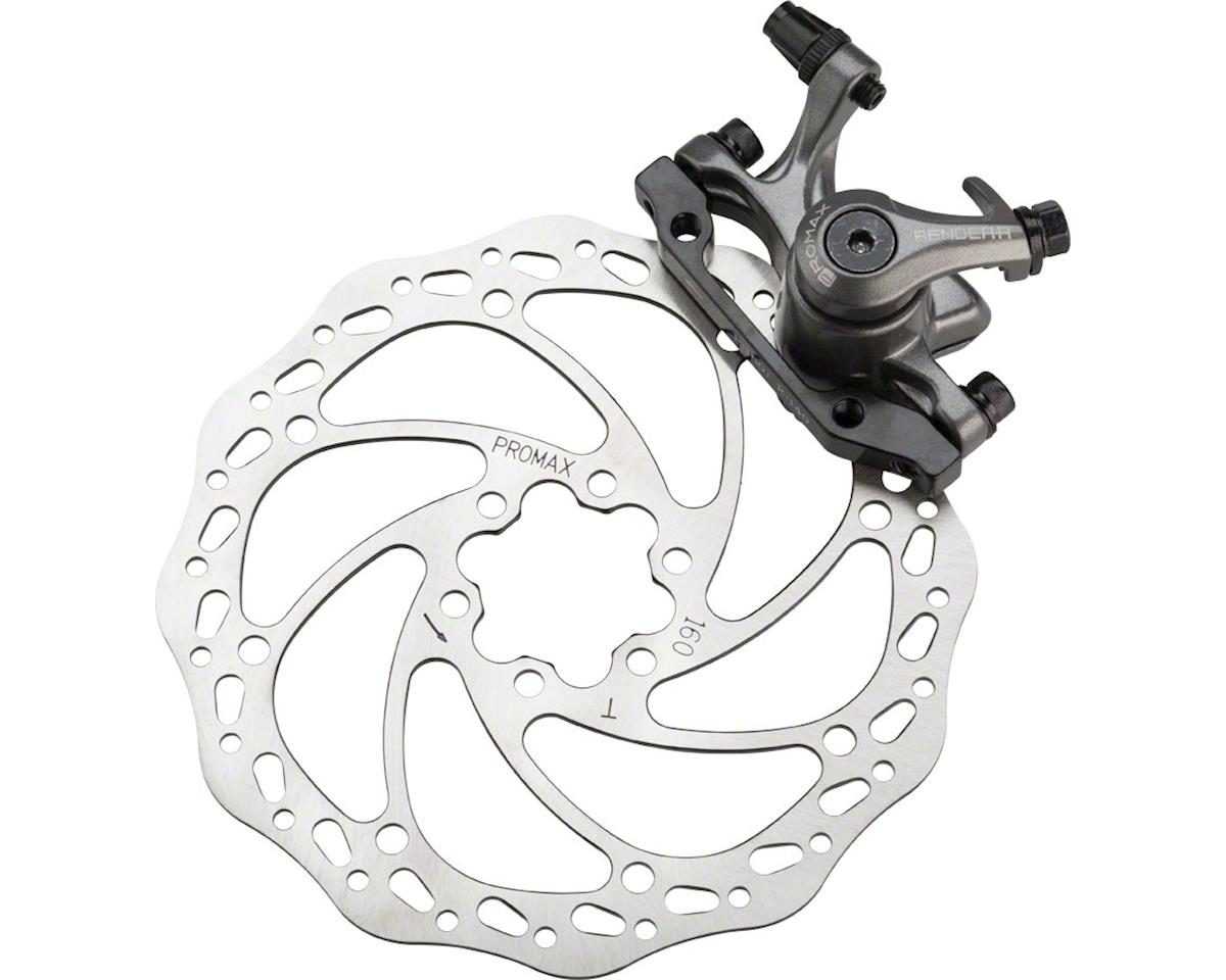 Promax Render R DSK-717 R Front Mechanical Road Disc Brake With 160mm Rotor Blac
