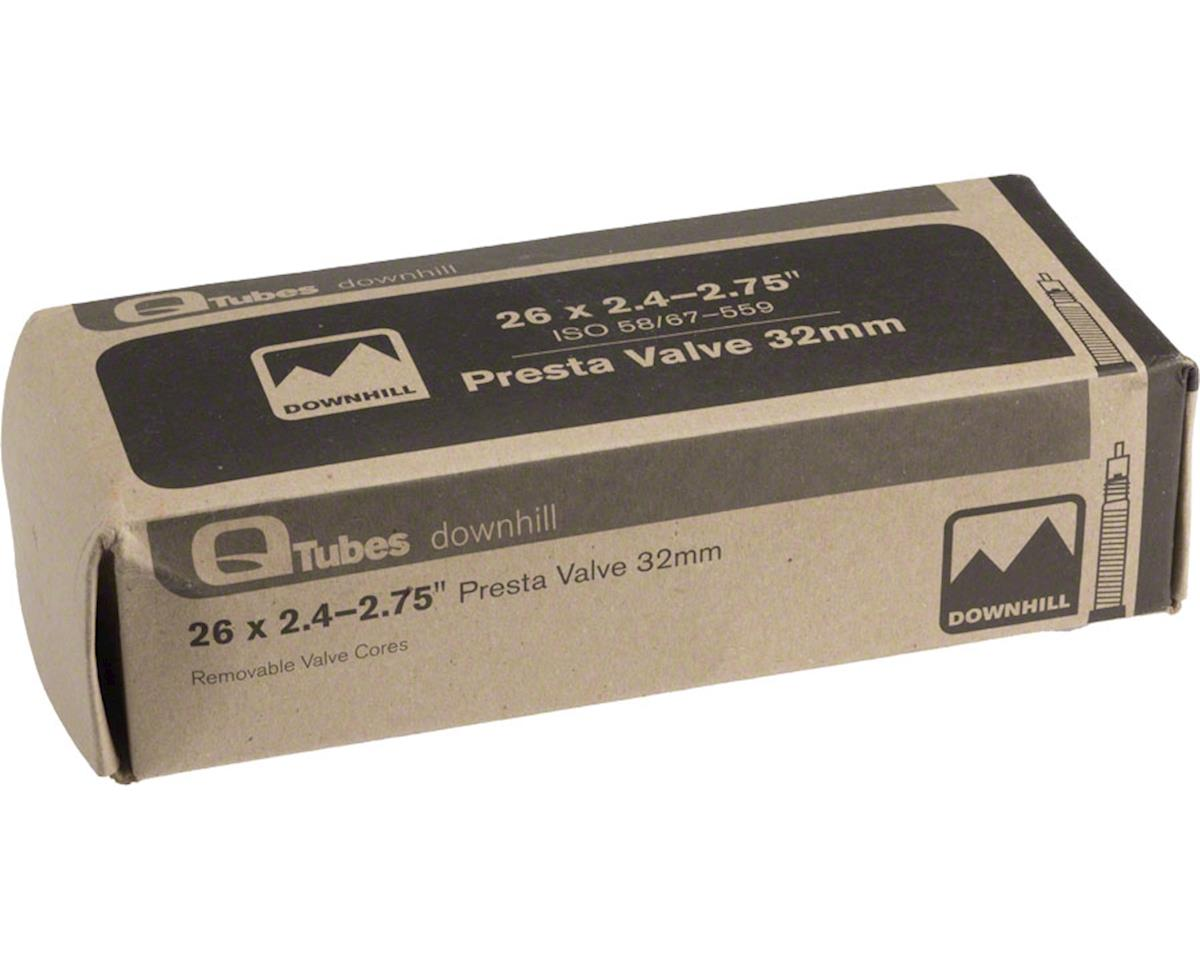"Q-Tubes DH 26"" x 2.4-2.75"" 32mm Presta Valve Tube"