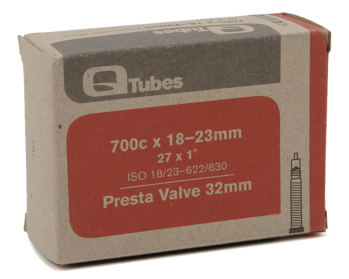 Q-Tubes 700c Tube (Removable Core Presta) (32mm Stem) (700 x 18-23)