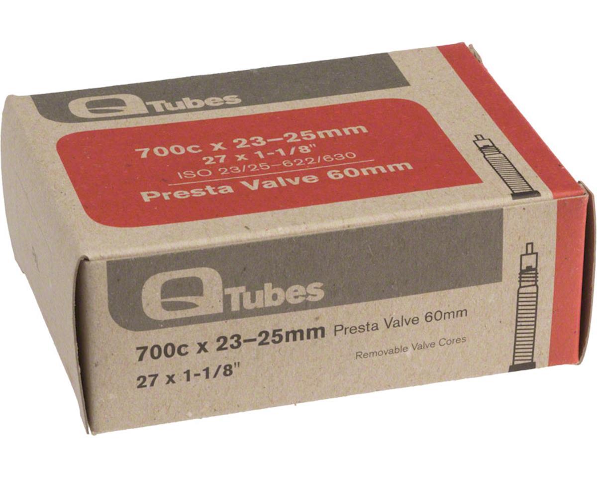 Q-Tubes 700c x 23-25mm 60mm Presta Valve Tube 126g