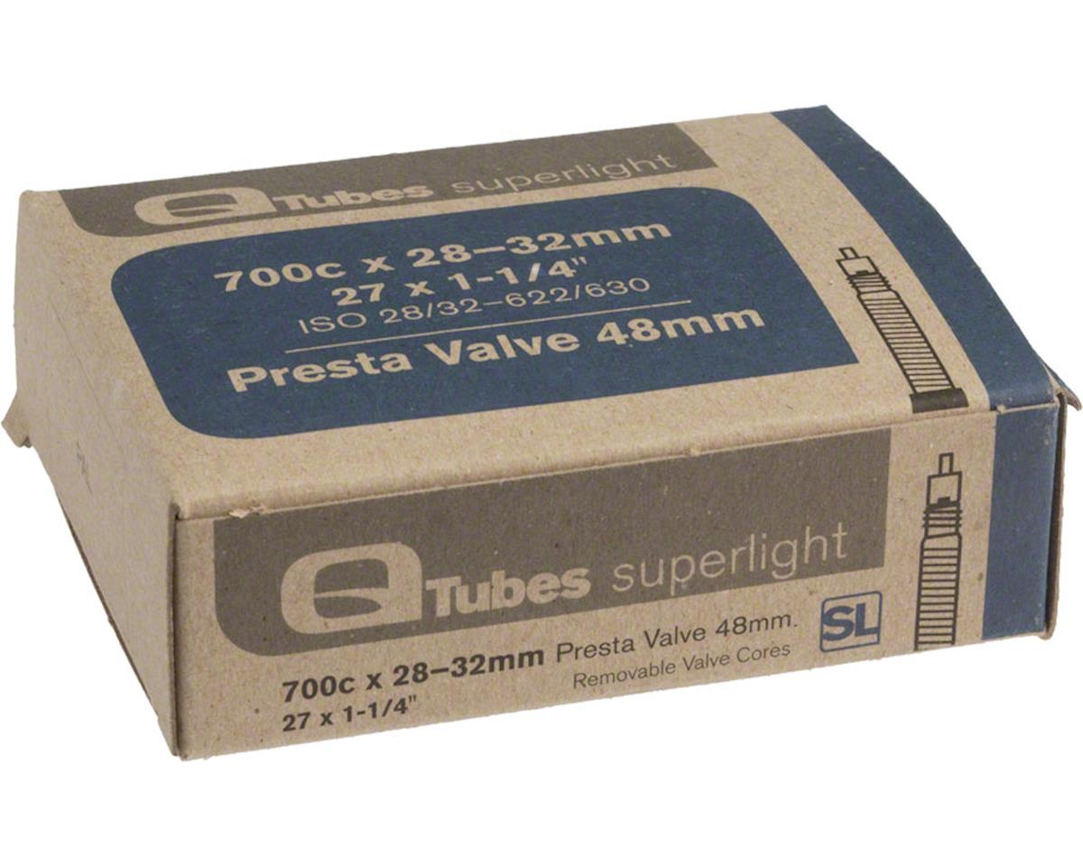 Q-Tubes Superlight 700c x 28-32mm 48mm Presta Valve Tube