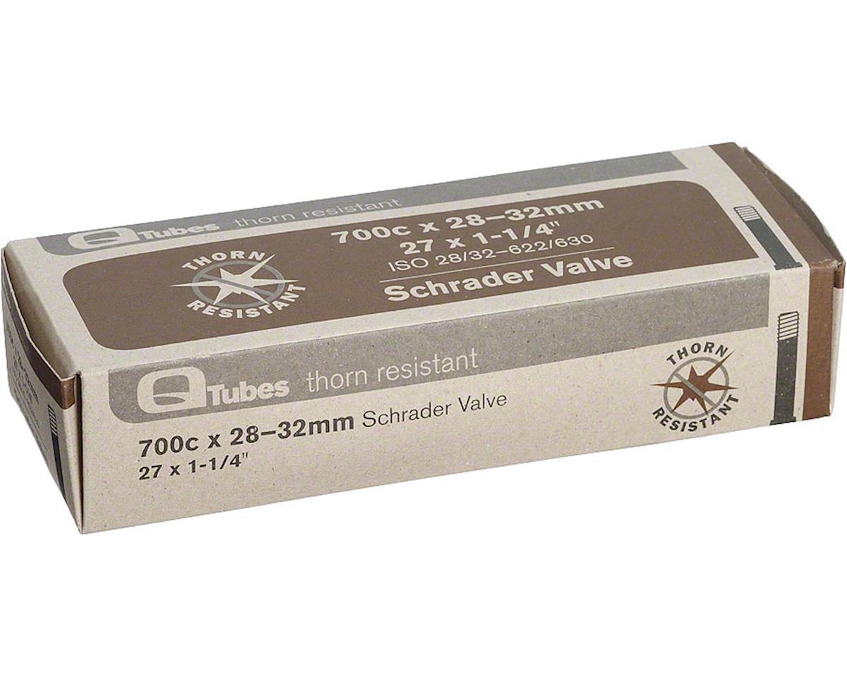 Q-Tubes Thorn Resistant 700c x 28-32mm Schrader Valve Tube 400g
