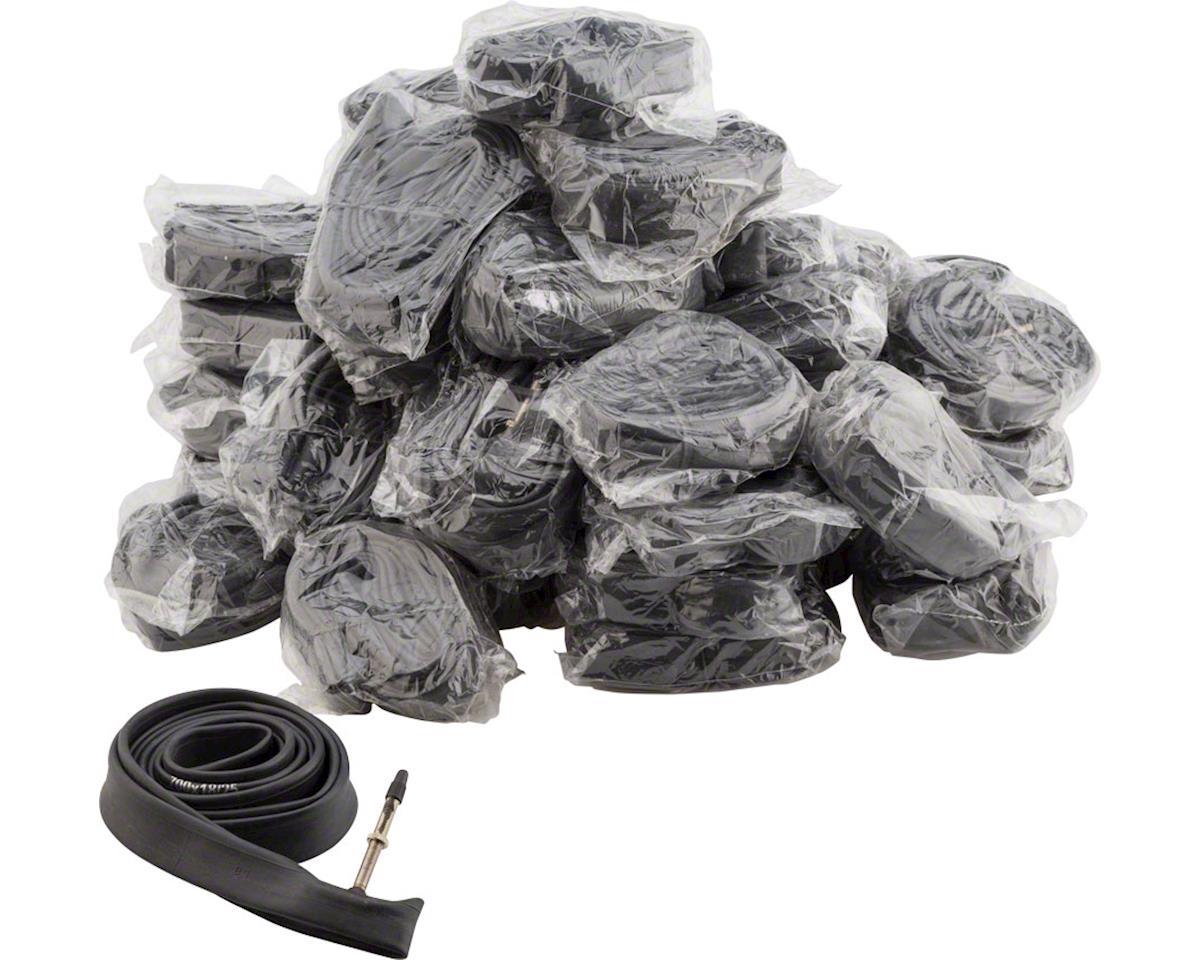 Q-Tubes Value Series Bulk Box/50 Tubes with 48mm Presta Valve: 700c x 18-25mm