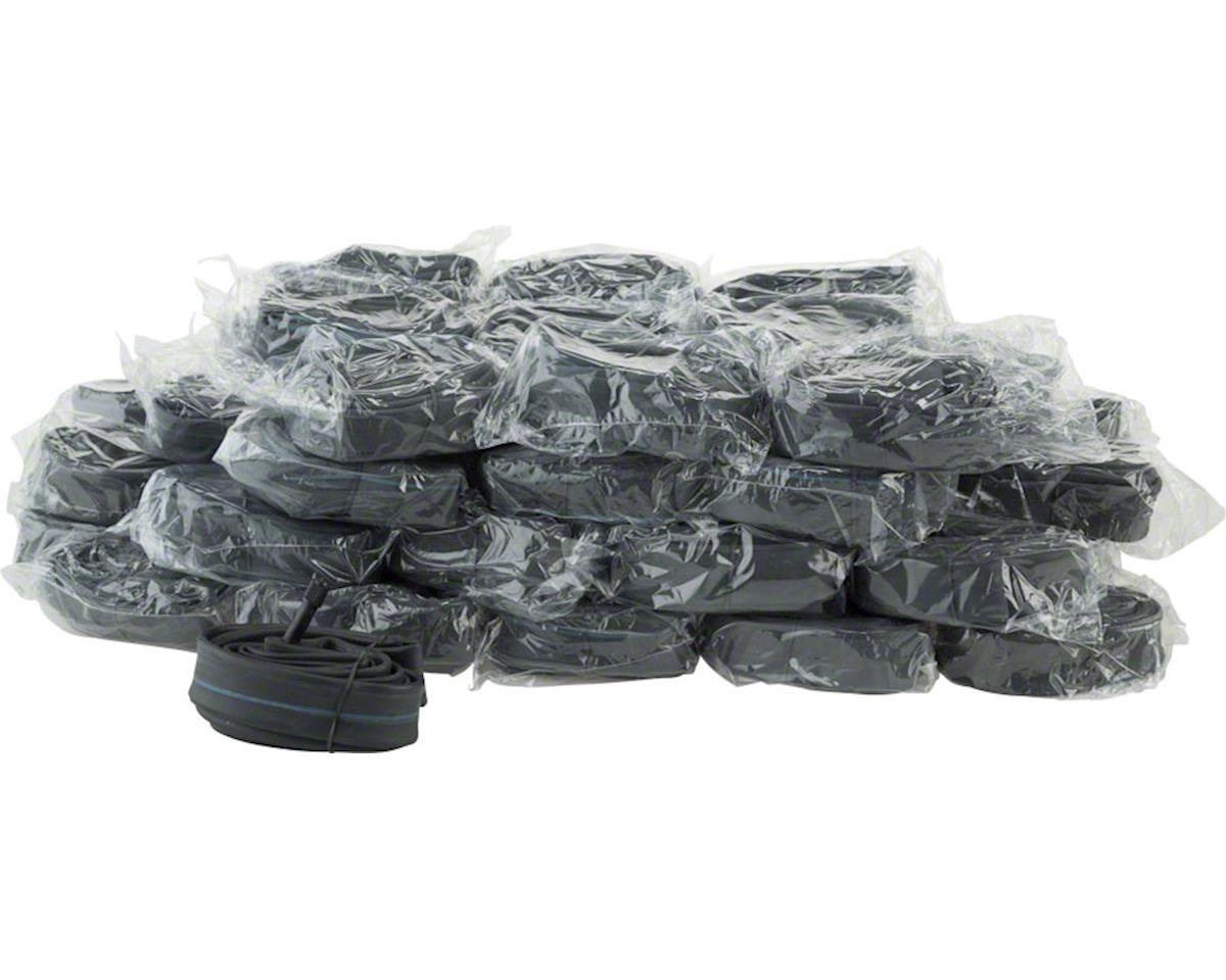 "Q-Tubes Value Series Bulk Box/50 Tubes with Schrader Valve: 27 x 1-1/8-1-1/4"" (7"