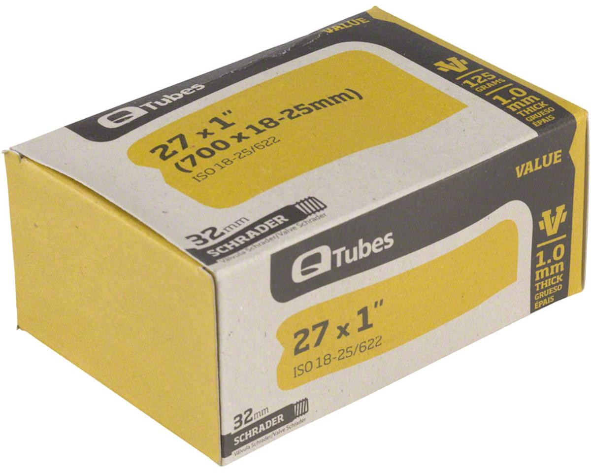 "Value Series Tube with Schrader Valve: 27"" x 1"" (700 x 18-25mm)"