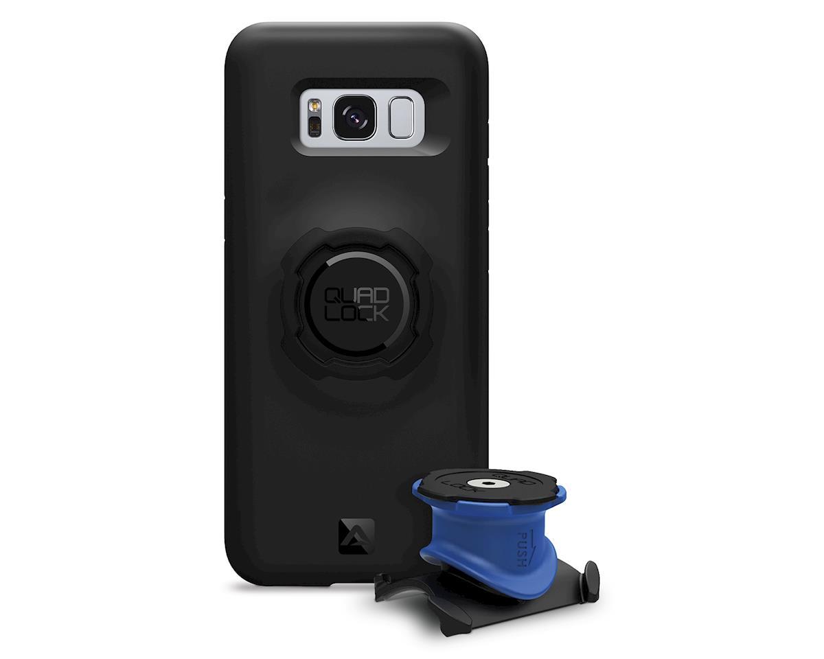 Quad Lock Samsung Galaxy S8 Plus Bike Mounting Kit (Black/Blue)