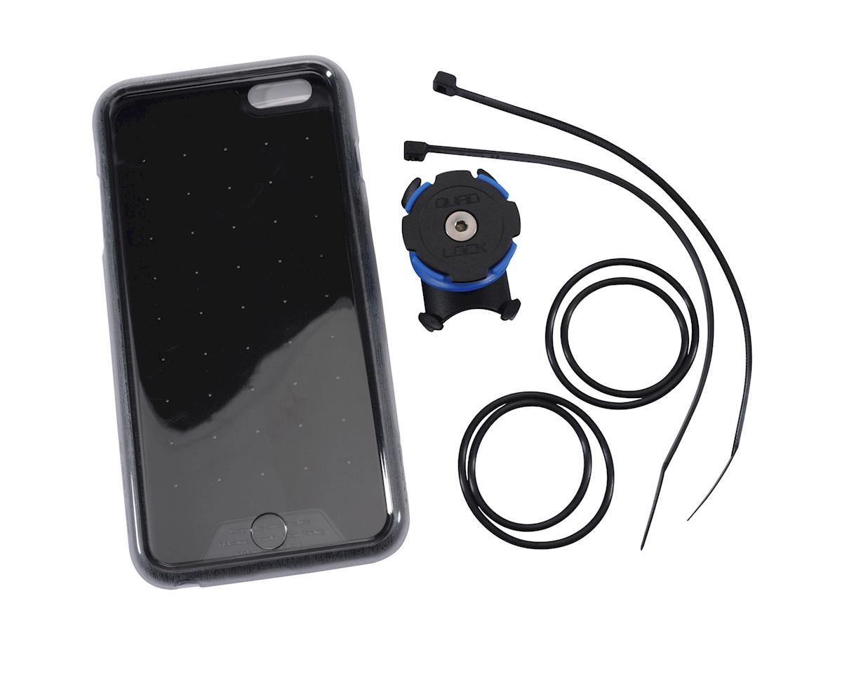 best website f8ea8 bfdc1 Quad Lock iPhone 6 Plus/6s Plus Bike Mounting Kit (Black/Blue)