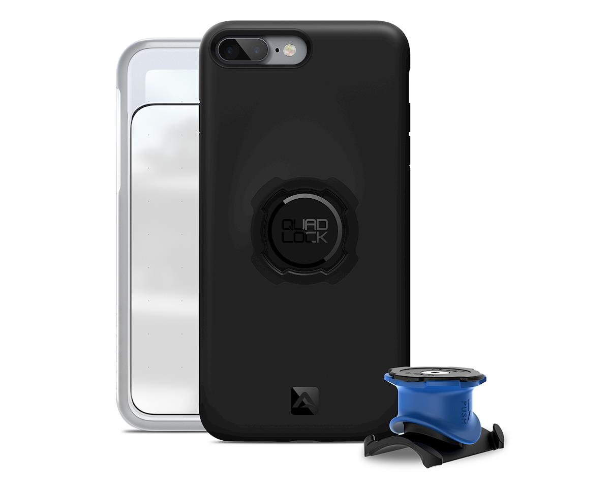 Quad Lock iPhone 8/7 Bike Mounting Kit (Black/Blue)