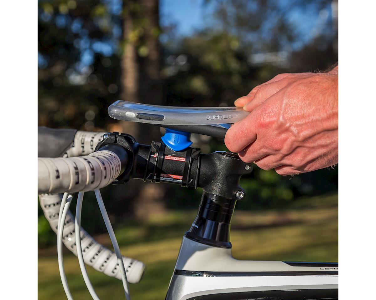 Quad Lock iPhone 8/7 Bike Mounting Kit (Black/Blue)