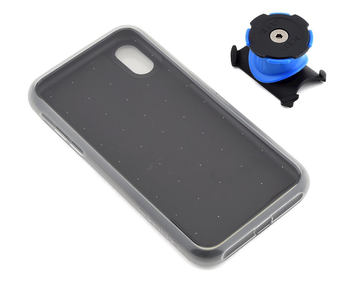 Quad Lock iPhone X Bike Mounting Kit (Black/Blue)