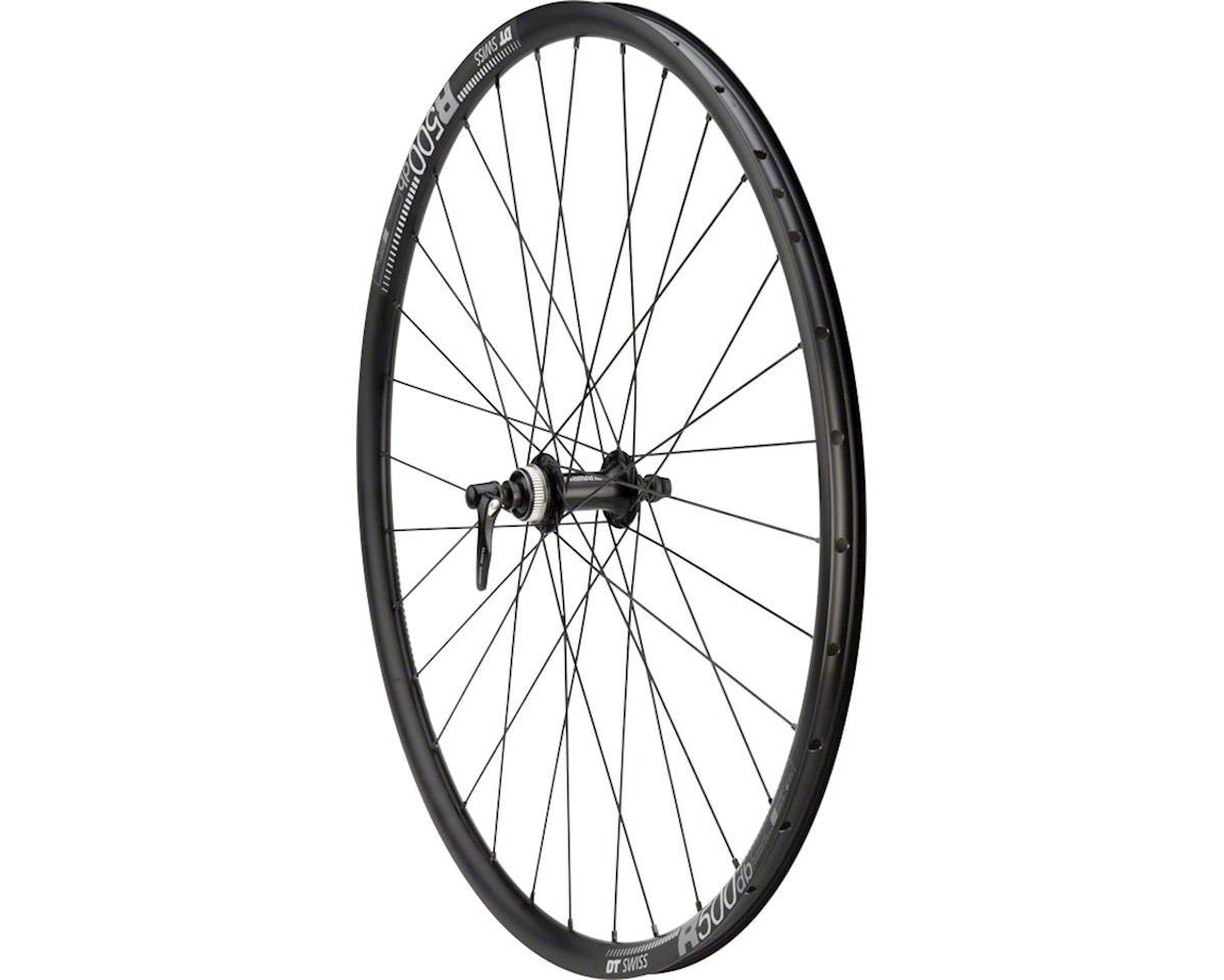 Quality Wheels 105/DT R500 Disc Front Wheel 700 QR x 100mm Center-Lock Black