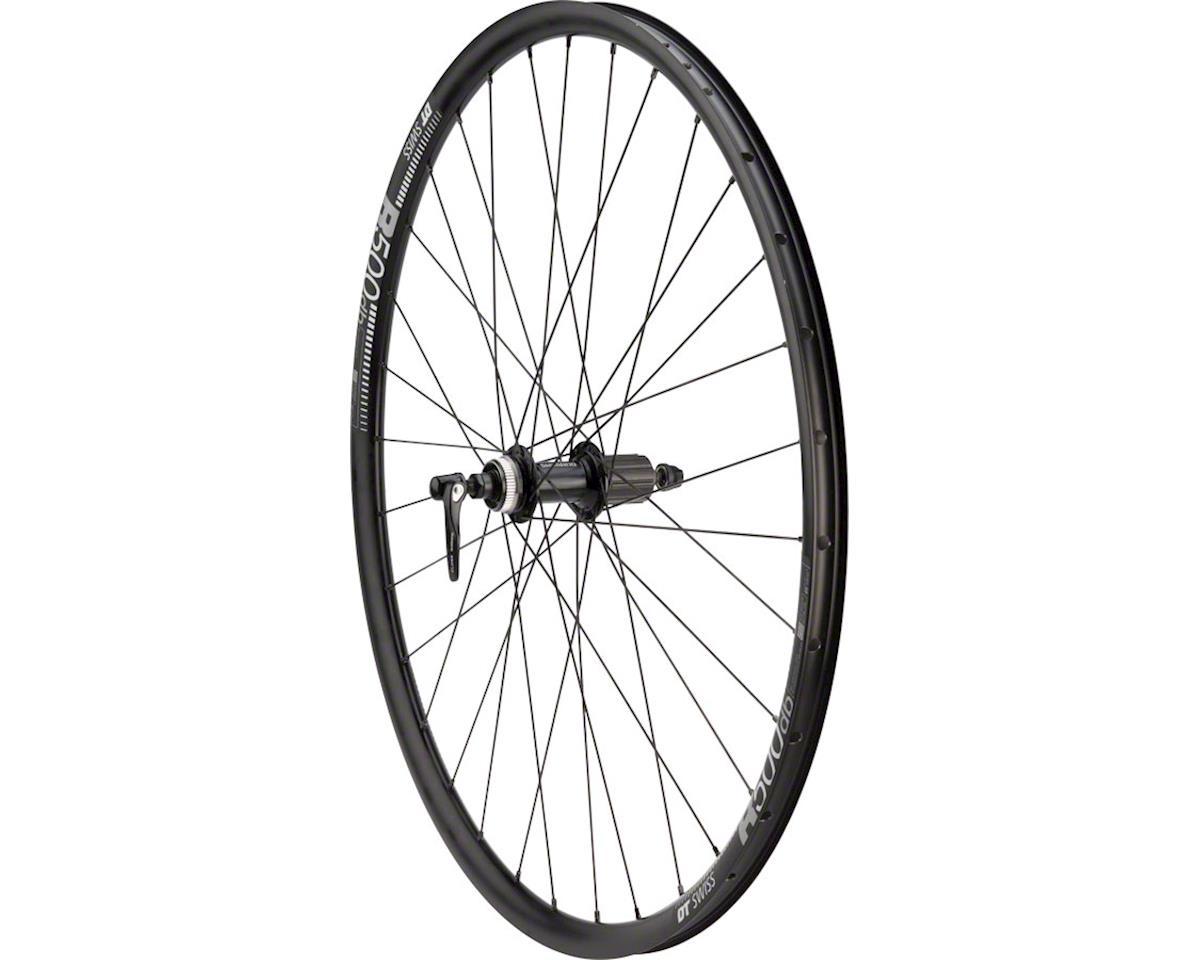 700c DT Swiss R500 Road Disc 135mm QR Novatec D792SB Hub Rear Wheel 28H