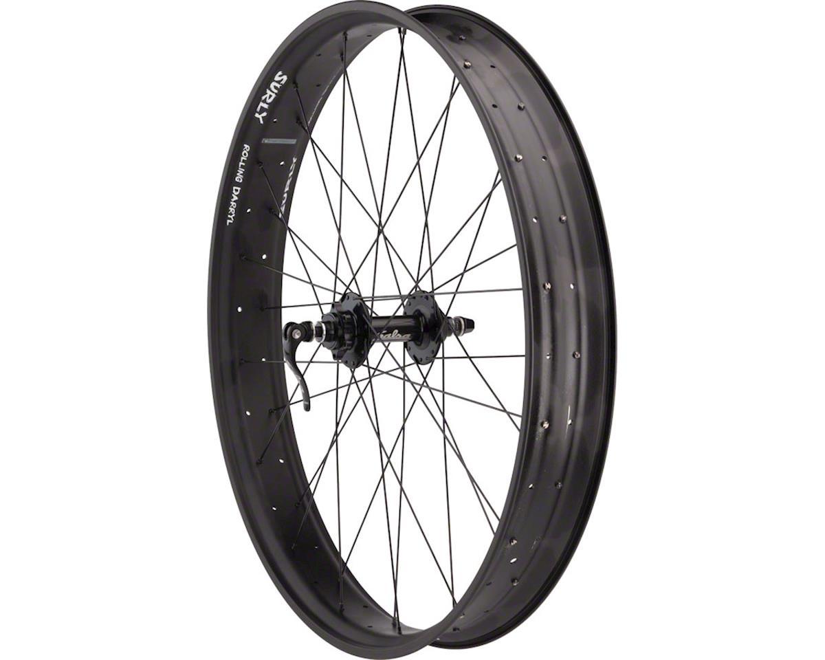 """Fatbike Front Wheel 26"""" 32h Salsa 135mm Disc / unHoley Darryl / D"""