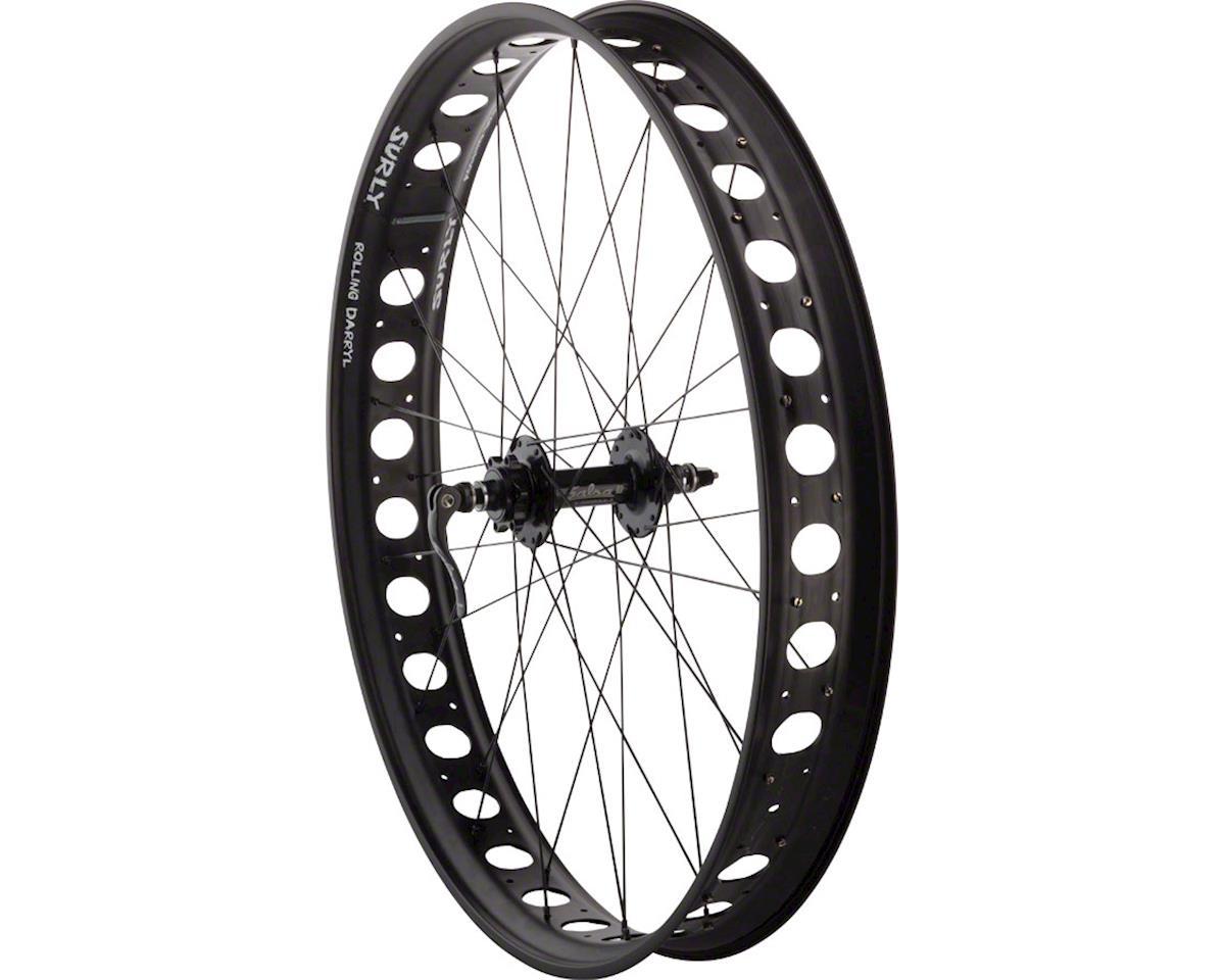"Fatbike  Front Wheel 26"" 32h Surly Holey Darryl Salsa 135 DT Comp"