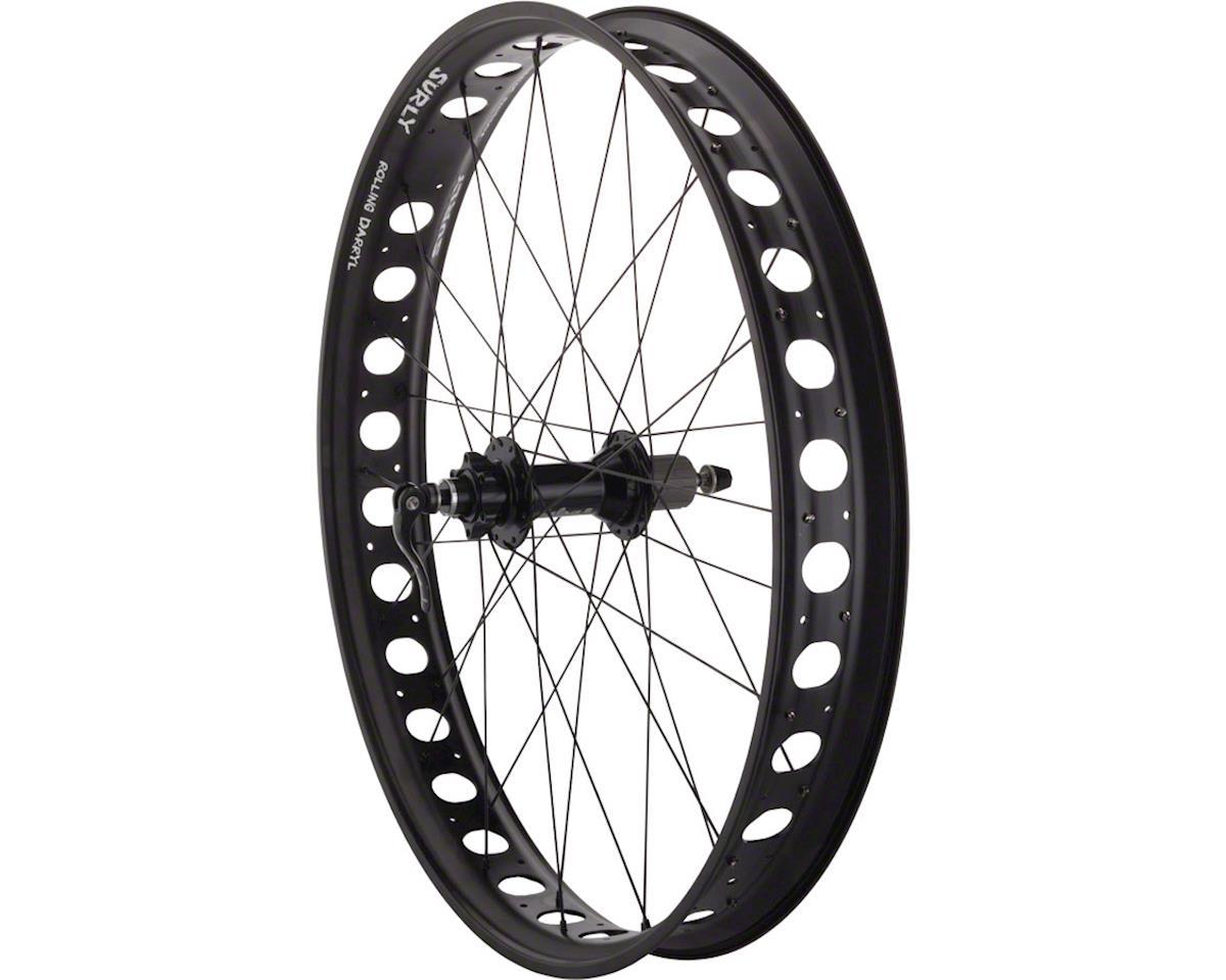 """Fat Bike Rear Wheel 26"""" 32h Surly Rolling Darryl Salsa 170 DT Com"""