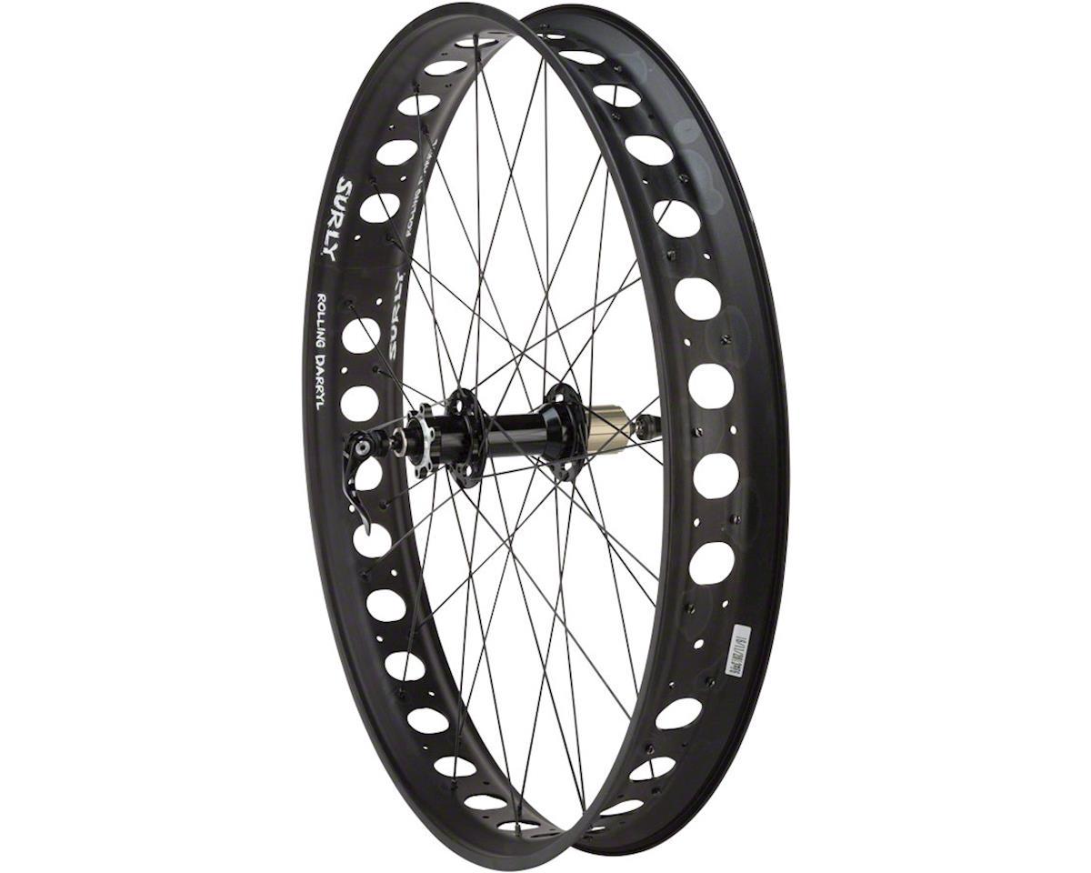 "Fat Rear Wheel 26"" Novatec D102 / Surly Rolling Darryl 170mm QR a"
