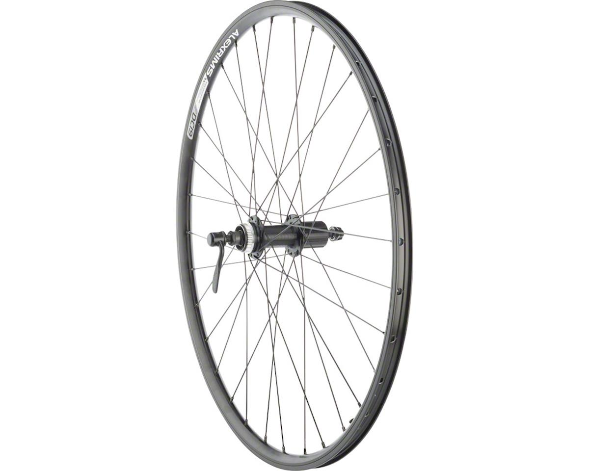 "Quality Wheels Rear Wheel Rim and Disc Convenience 26"" 32h Shimano TX505 / Alex"