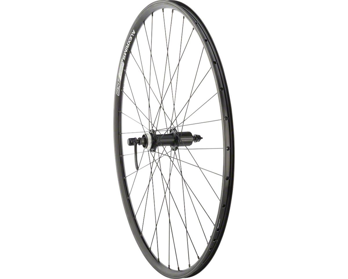 Quality Wheels Value Double Wall Series Rim+Disc Rear Rear Wheel - 700, QR x 135