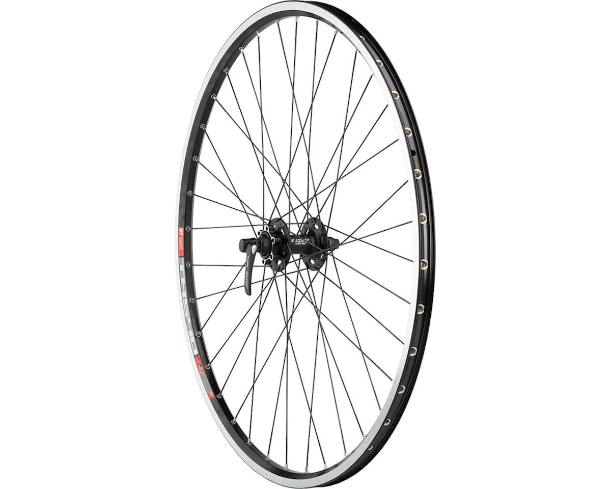 Quality Wheels XT/TK540 Front Wheel - 700, QR x 100mm, 6-Bolt, Black, Clincher