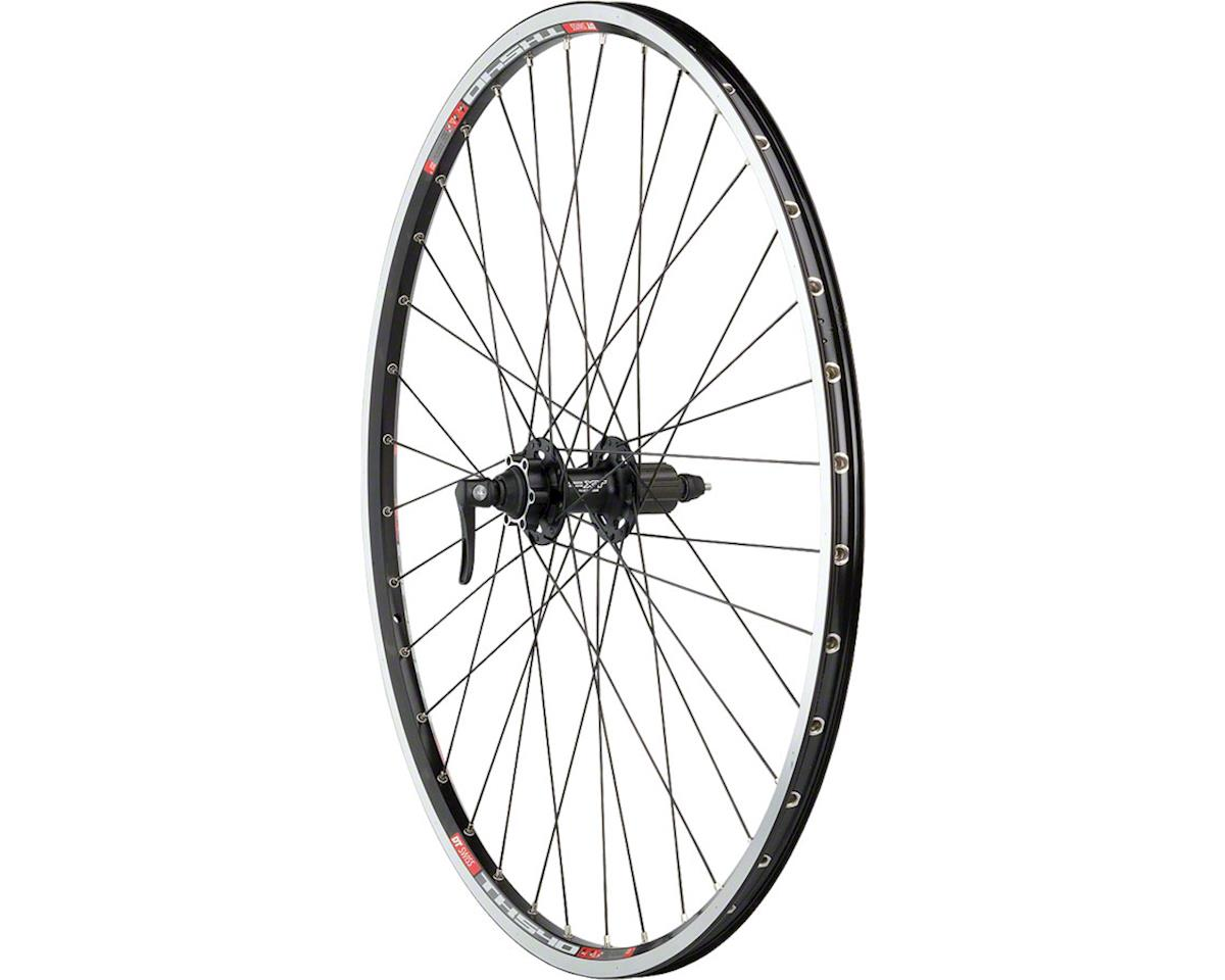 Quality Wheels XT/TK540 Rear Wheel - 700, QR x 135mm, 6-Bolt Disc,Rim Brake, HG