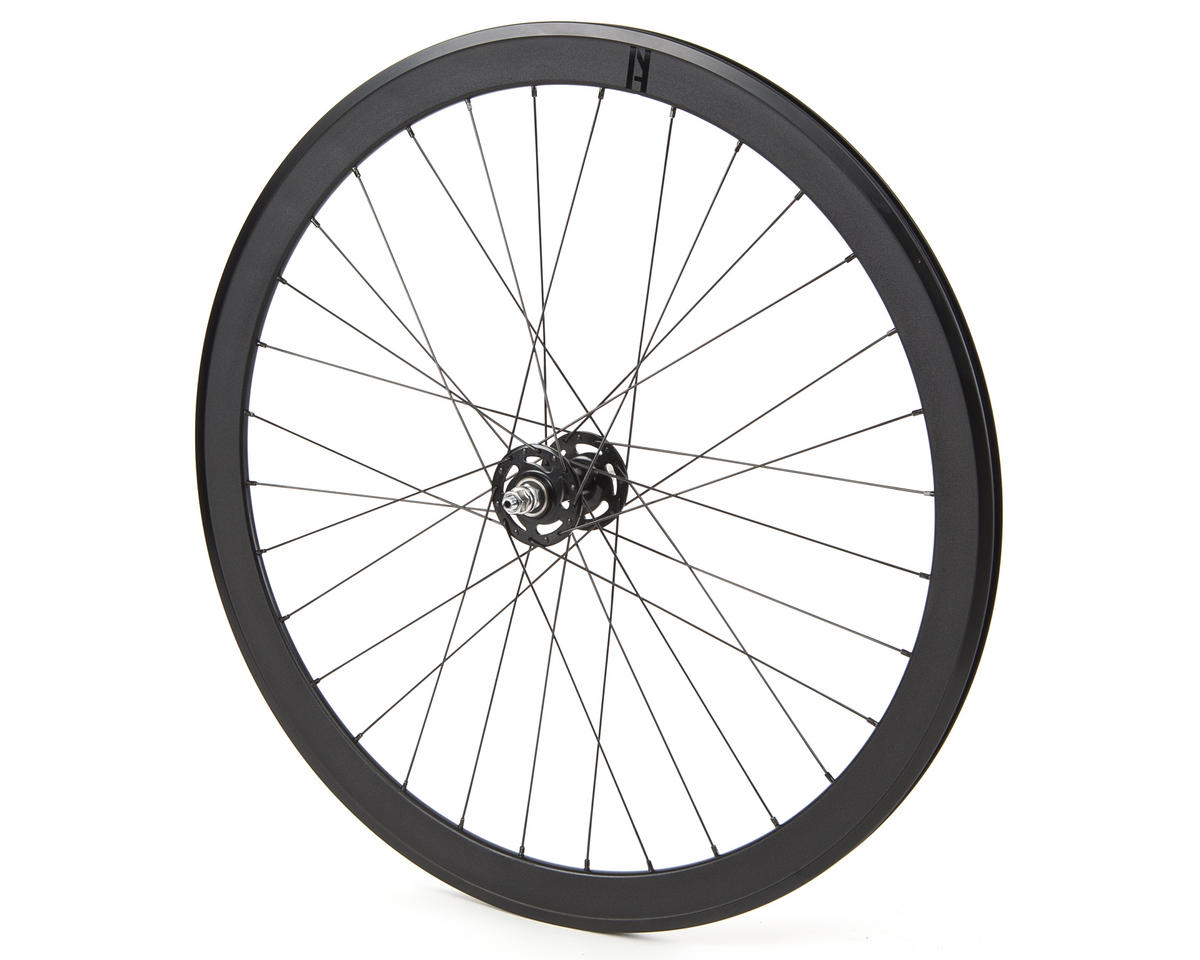 Quality Wheels Blackout Front Track Wheel (All-City Hub)