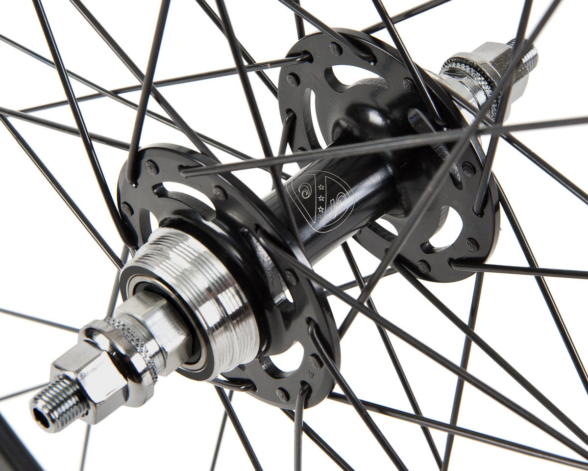 Quality Wheels Blackout Rear Track Wheel (700C) (All-City Fixed Hub)