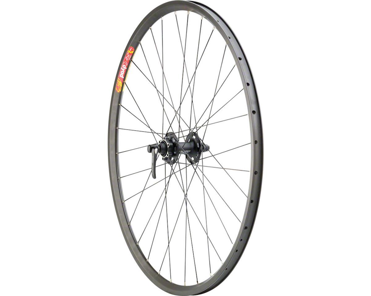 Pavement Disc Front Wheel 700c 32h XT M756 Black / Velocity Dyad