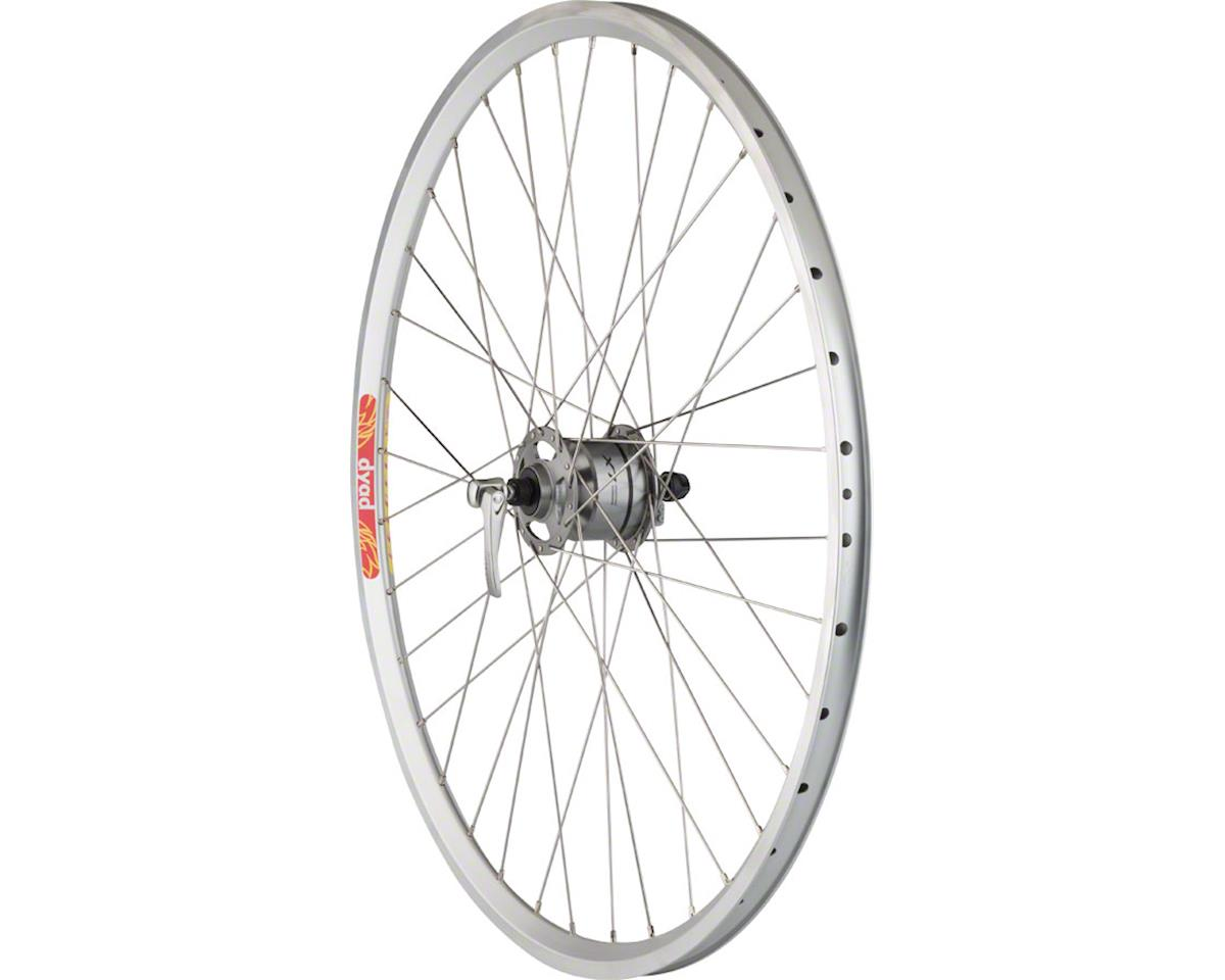 Pavement Front Rim Brake Wheel 650b 36h Shimano LX Dynamo / Veloc