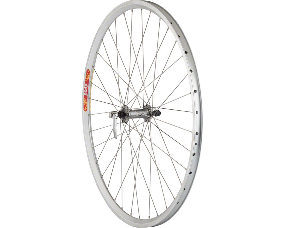 Pavement Front Rim Brake Wheel 650b 36h Shimano LX / Velocity Dya