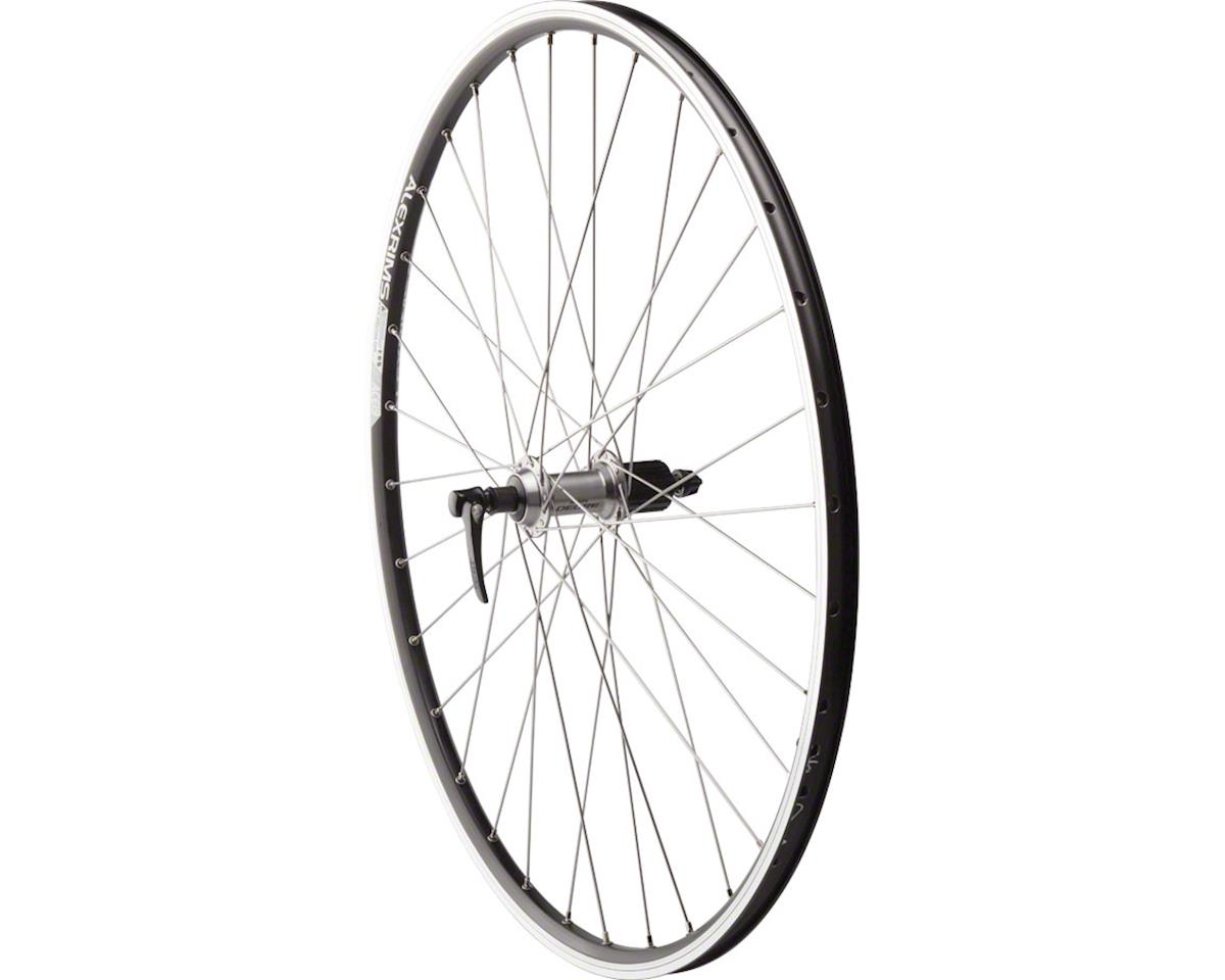 Road Rim Brake Rear Wheel 135mm 700c Shimano Deore M610 Silver /