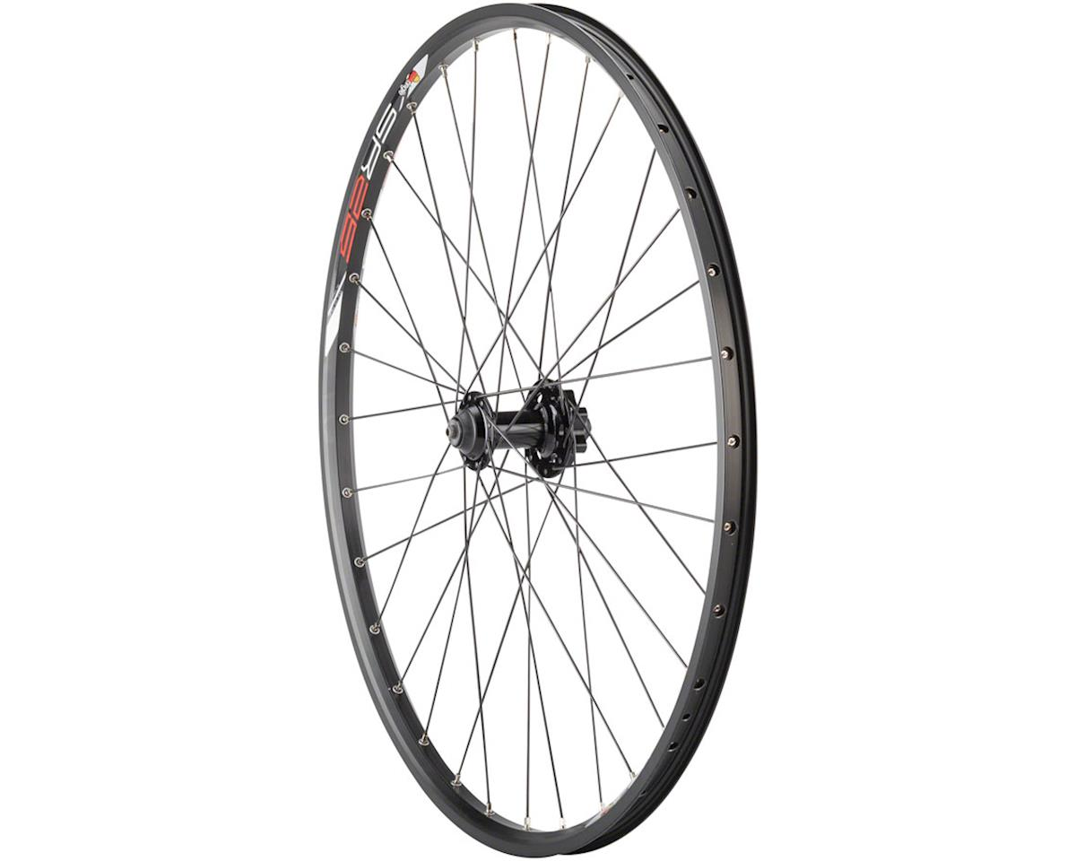 "Quality Wheels Value Double Wall Series Disc Front Front Wheel - 26"", QR x 100mm"