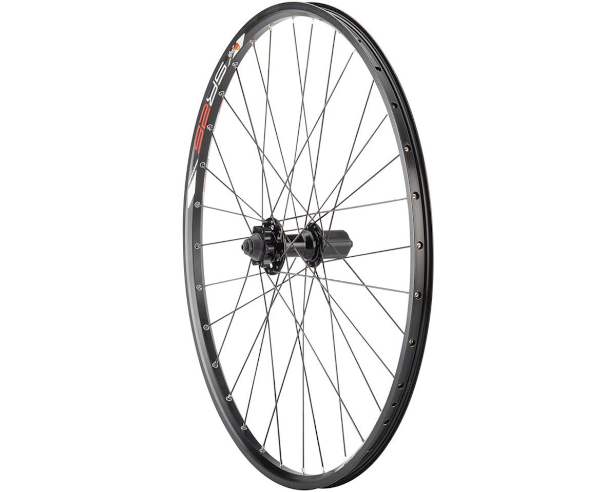 "Quality Wheels Value Double Wall Series Disc Rear Rear Wheel - 26"", QR x 135mm,"