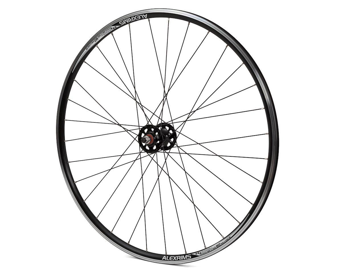 Quality Wheels Track 700c Front Wheel (Black)